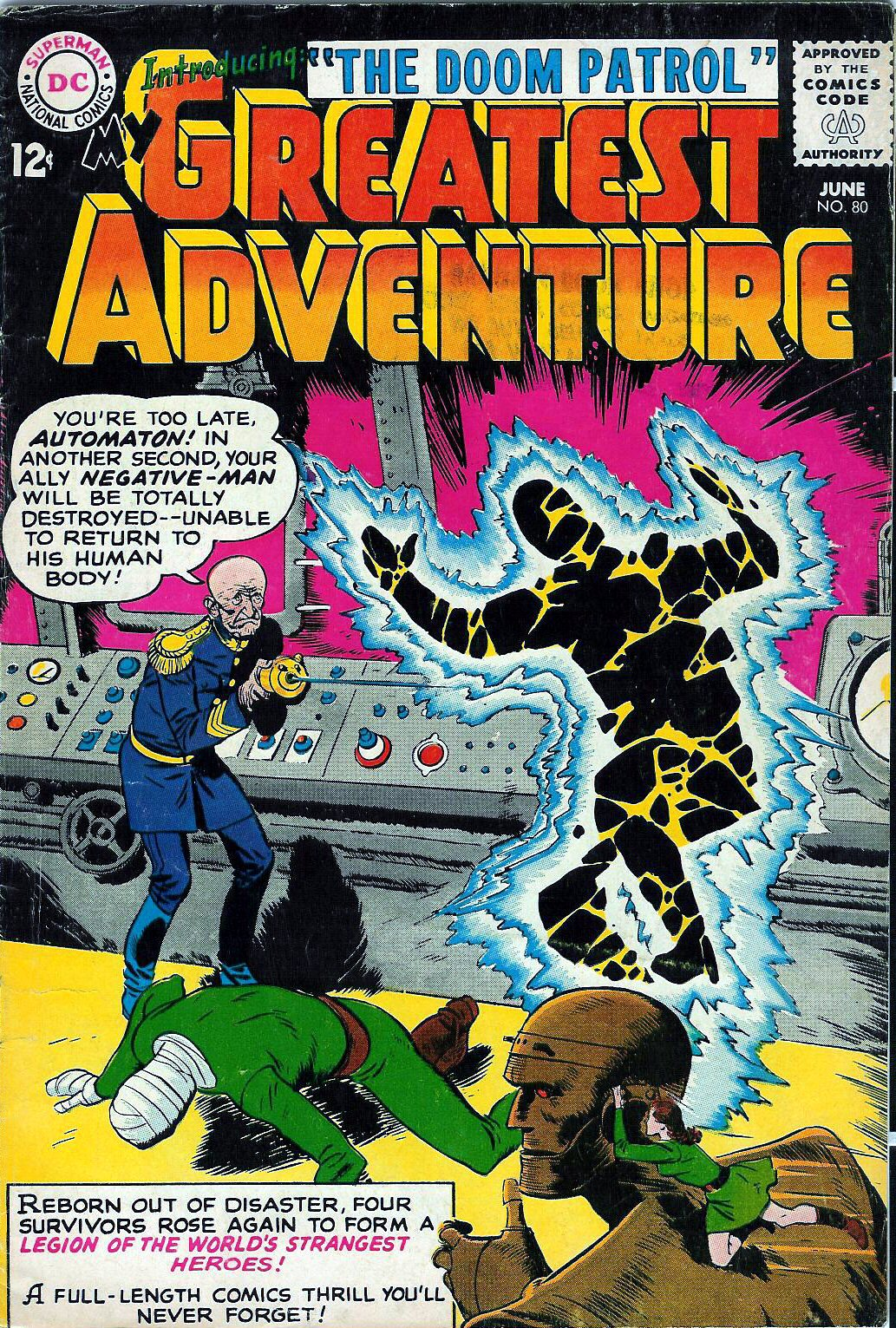 My Greatest Adventure (1955) issue 80 - Page 1