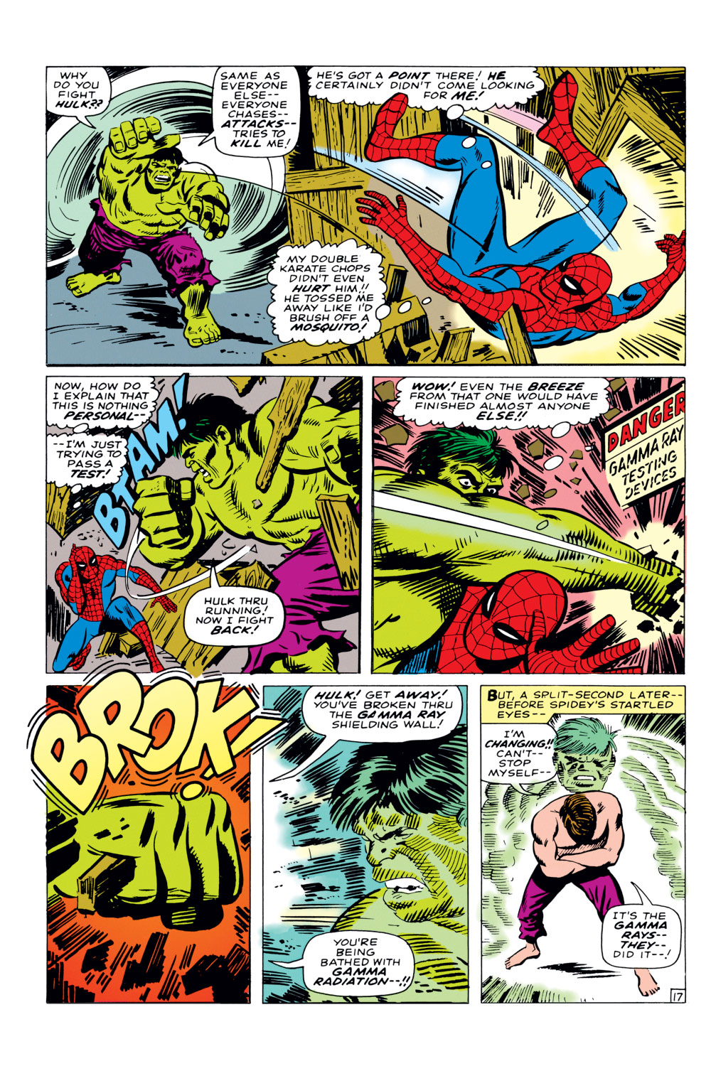 The Amazing Spider-Man (1963) _Annual_3 Page 17