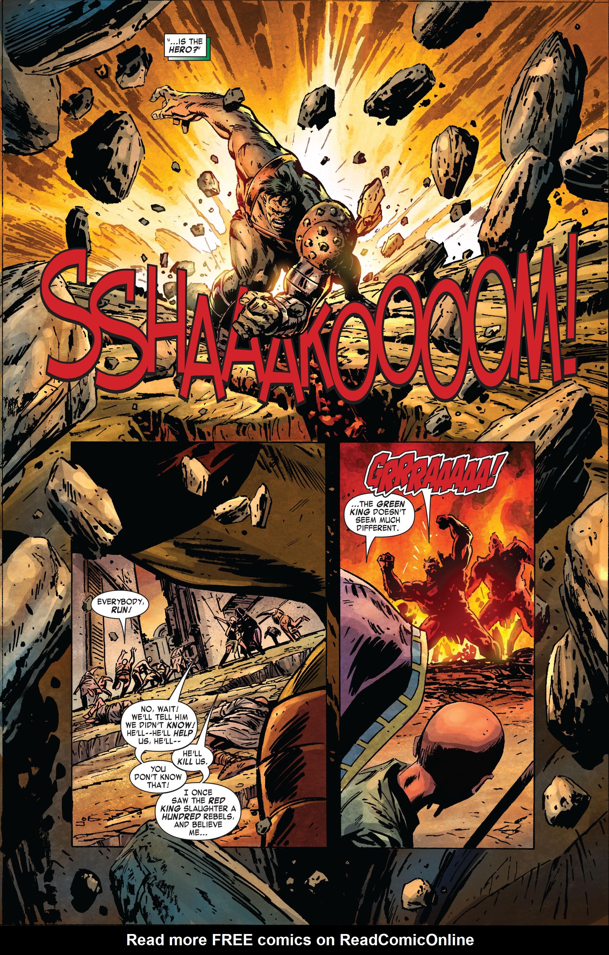 Read online Skaar: Son of Hulk comic -  Issue #2 - 20