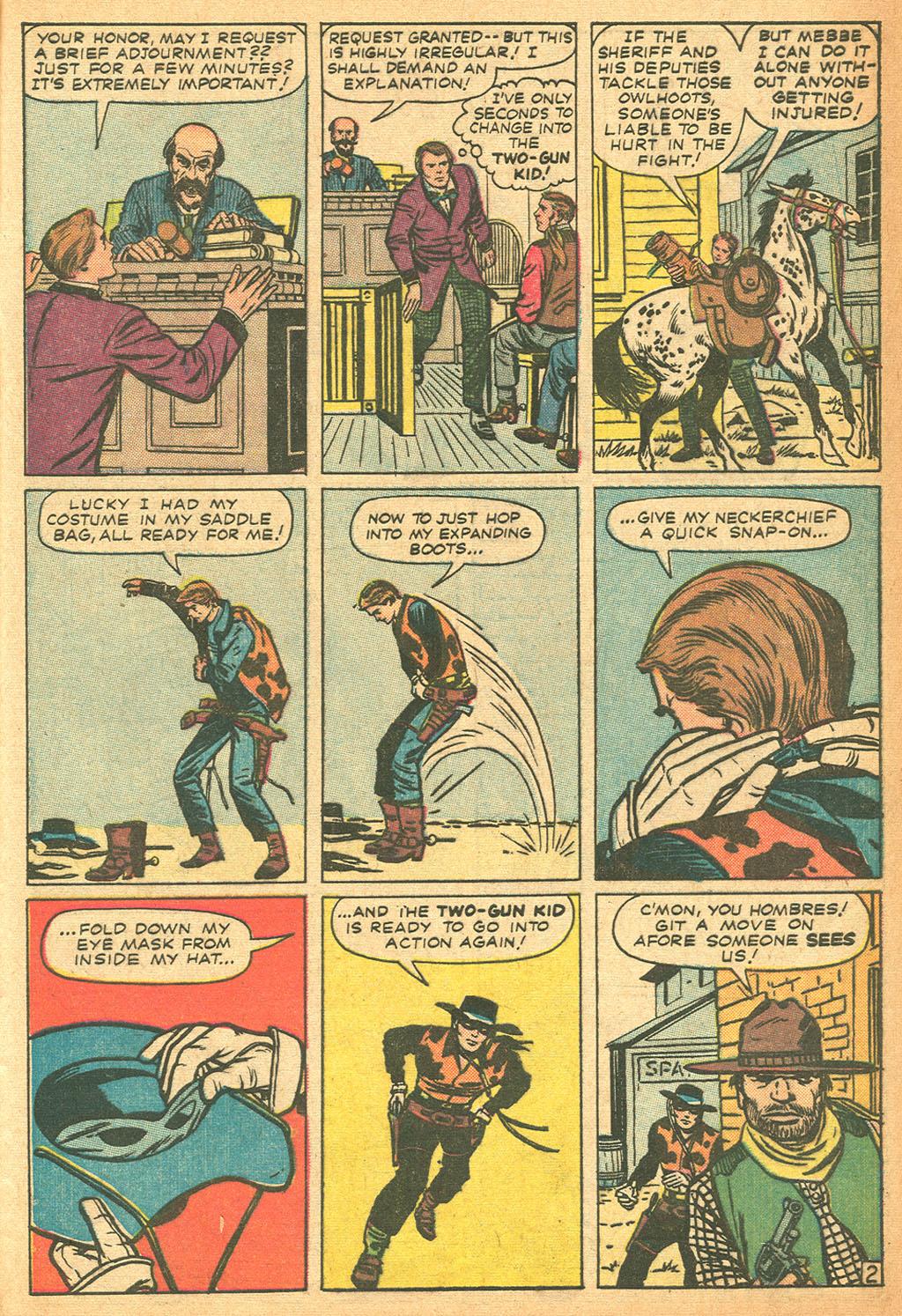 Read online Two-Gun Kid comic -  Issue #62 - 29