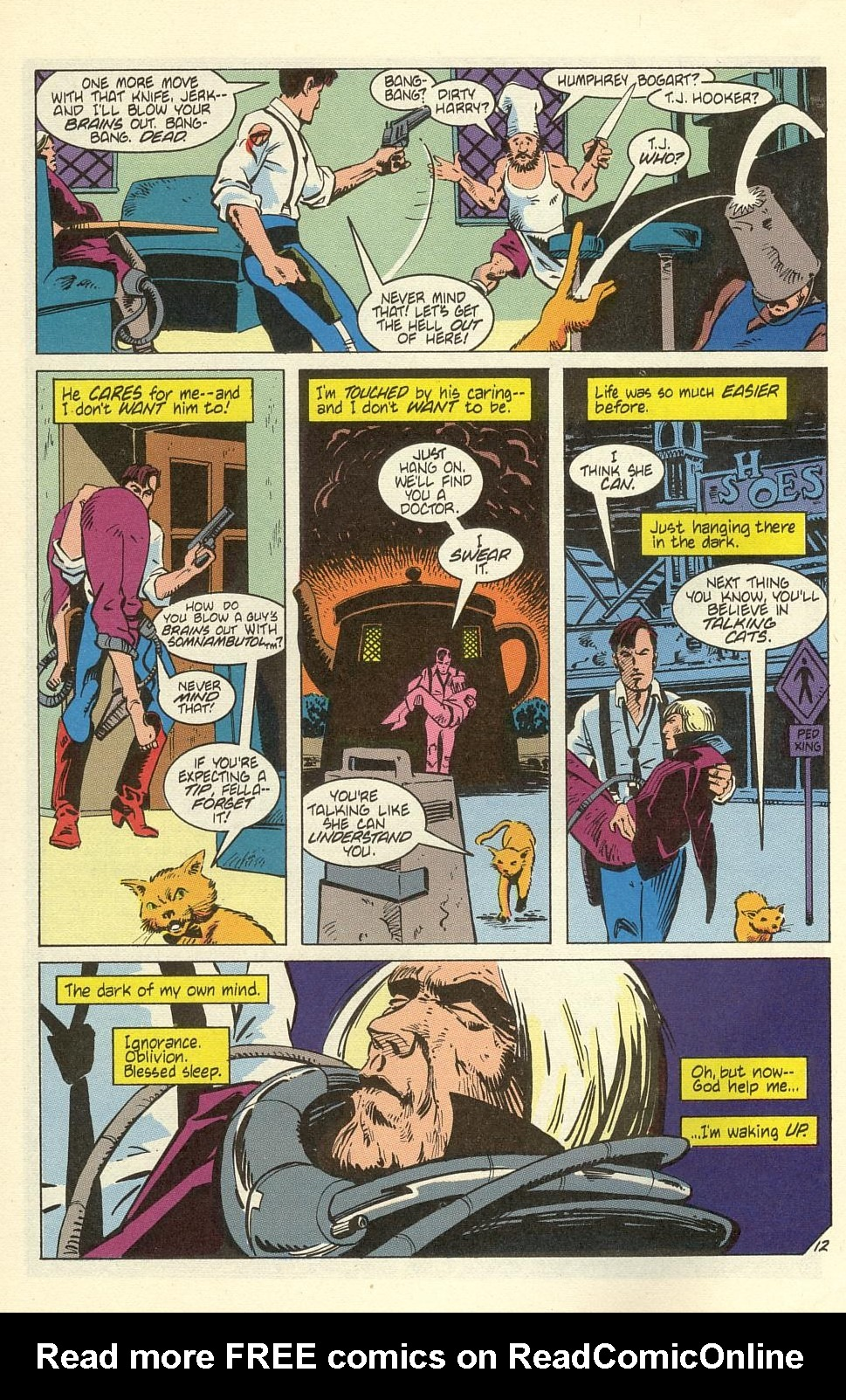 Read online American Flagg! comic -  Issue #40 - 16