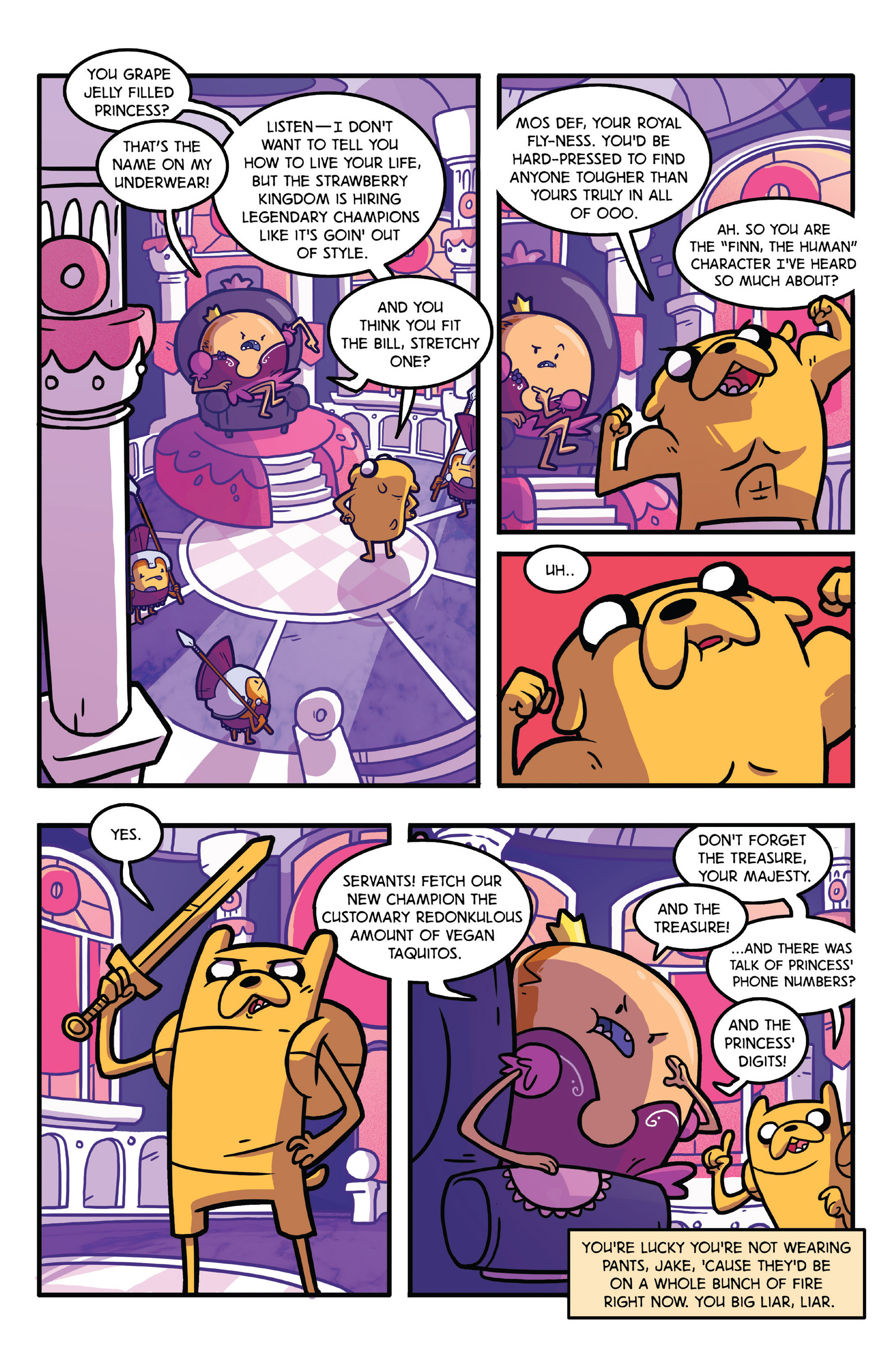 Read online Adventure Time comic -  Issue #28 - 23