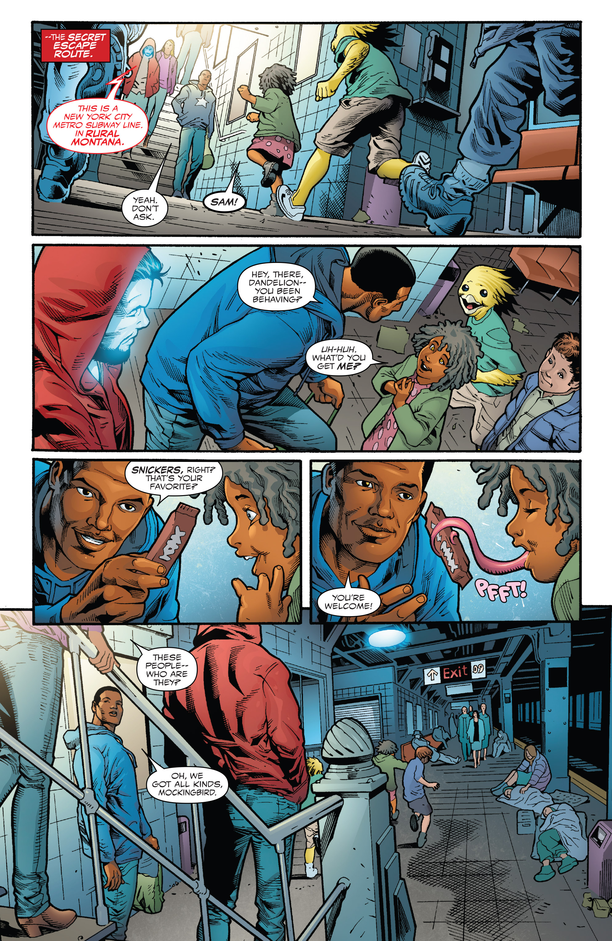 Read online Captain America: Sam Wilson comic -  Issue #23 - 5