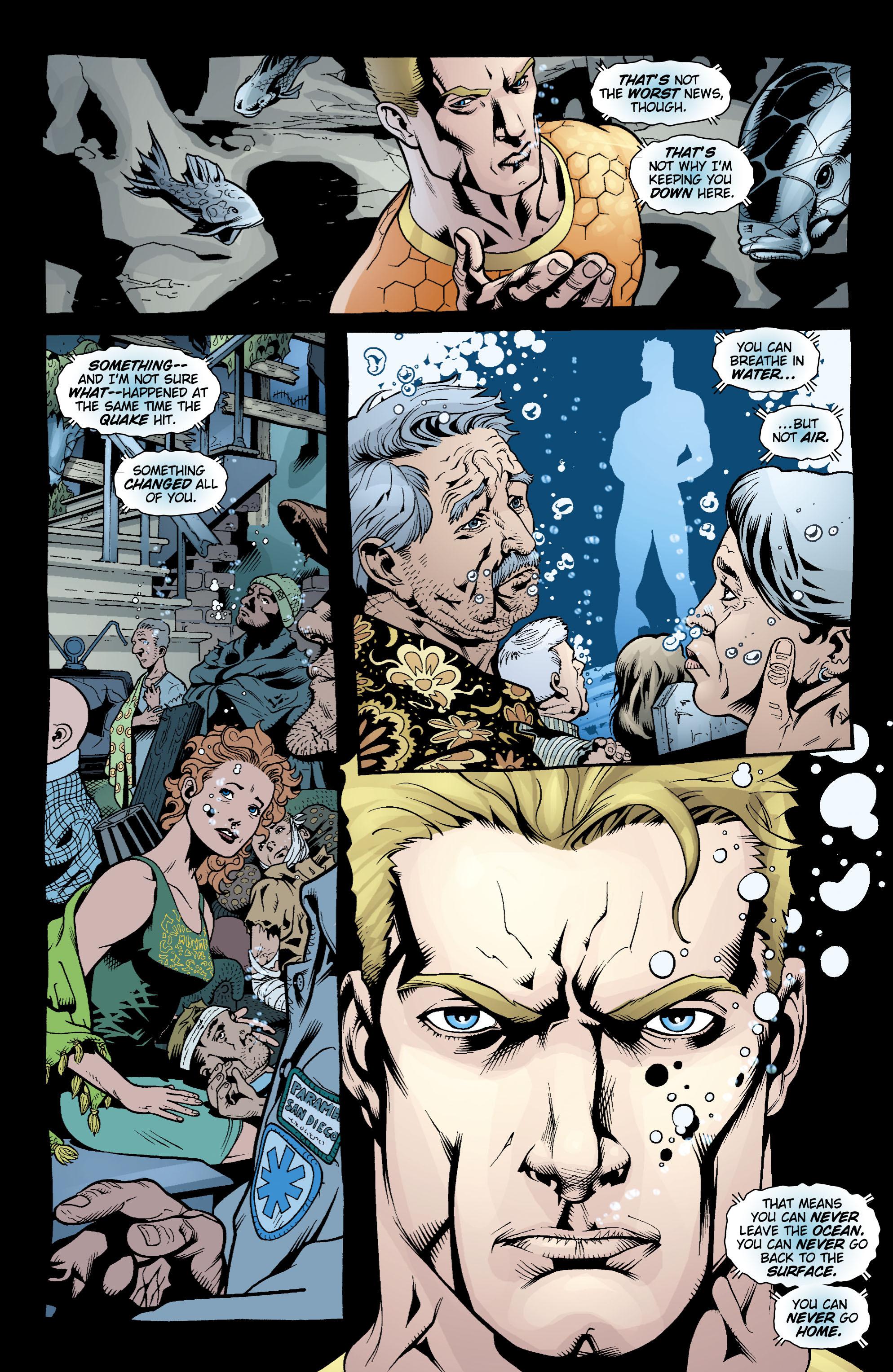 Read online Aquaman (2003) comic -  Issue #17 - 10