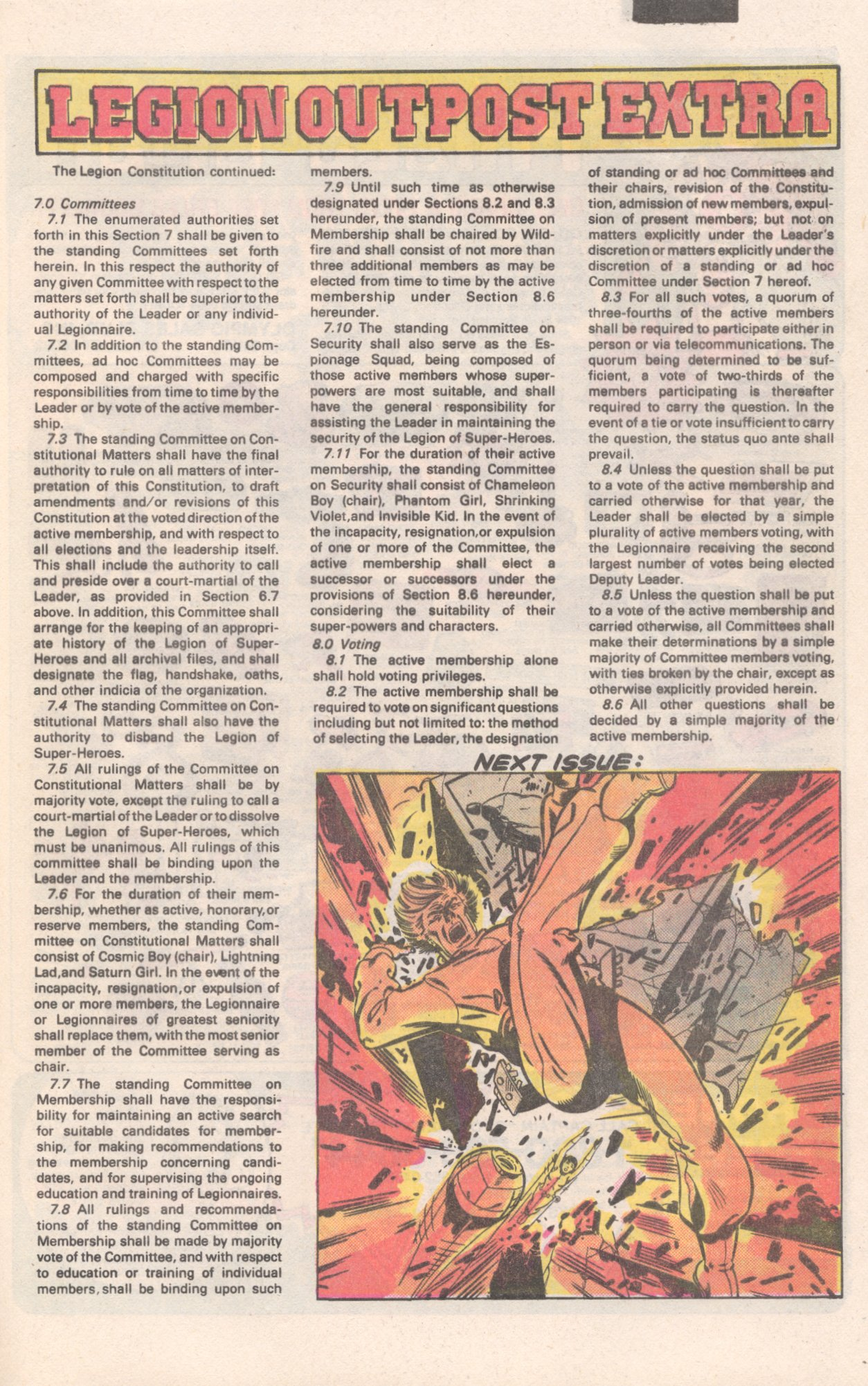 Legion of Super-Heroes (1980) 310 Page 25
