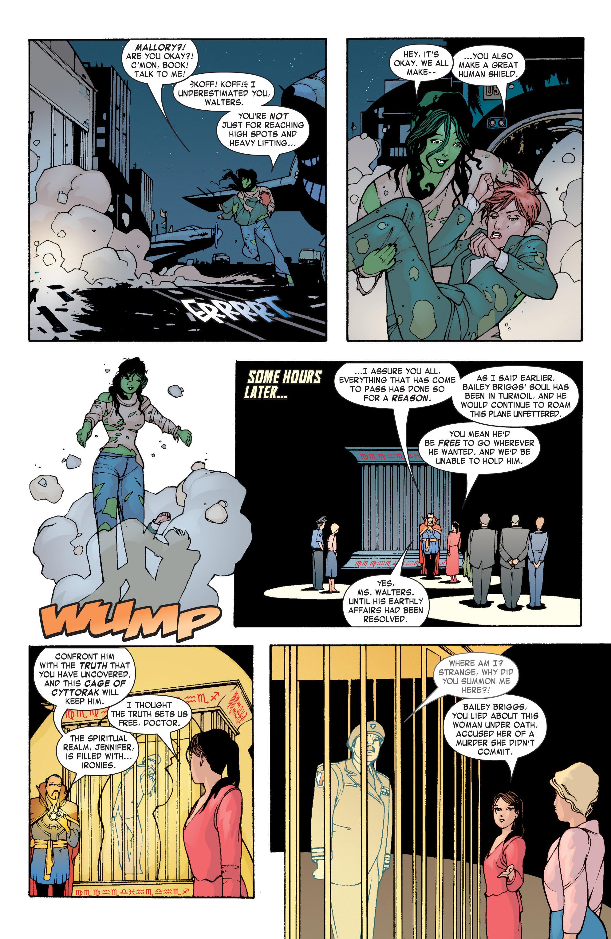 Read online She-Hulk (2004) comic -  Issue #3 - 22