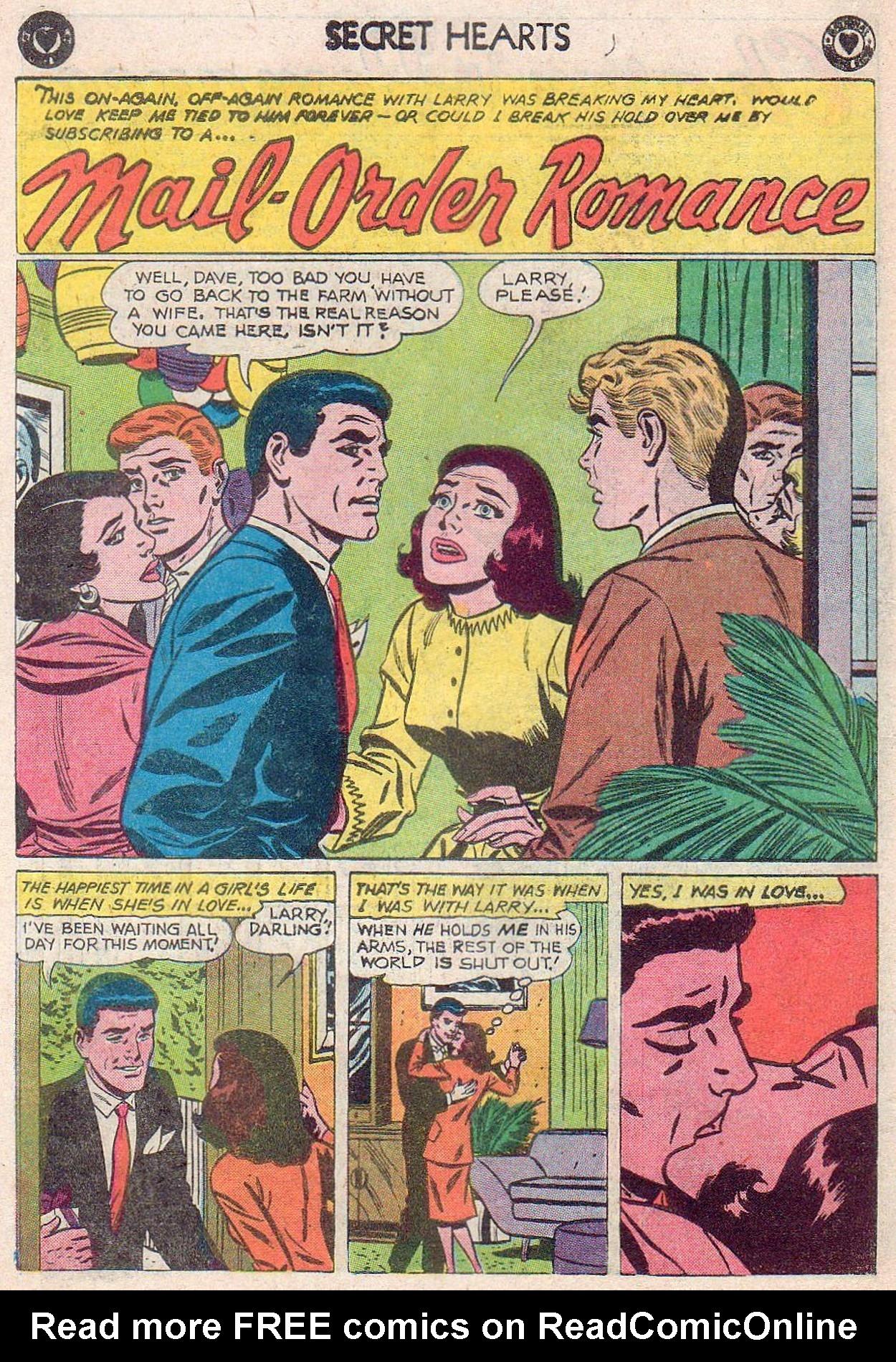 Read online Secret Hearts comic -  Issue #61 - 18