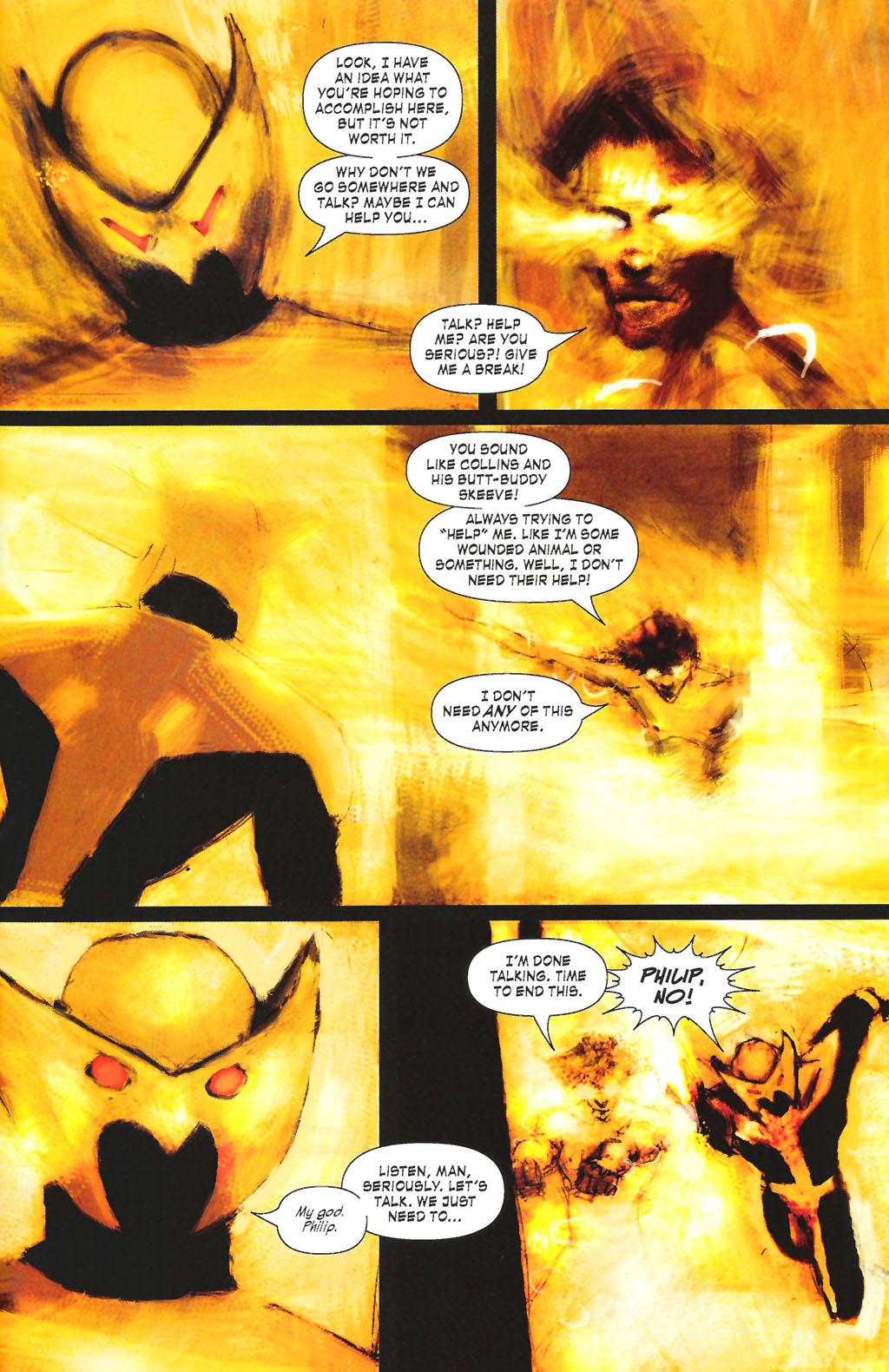 Read online ShadowHawk (2005) comic -  Issue #7 - 23