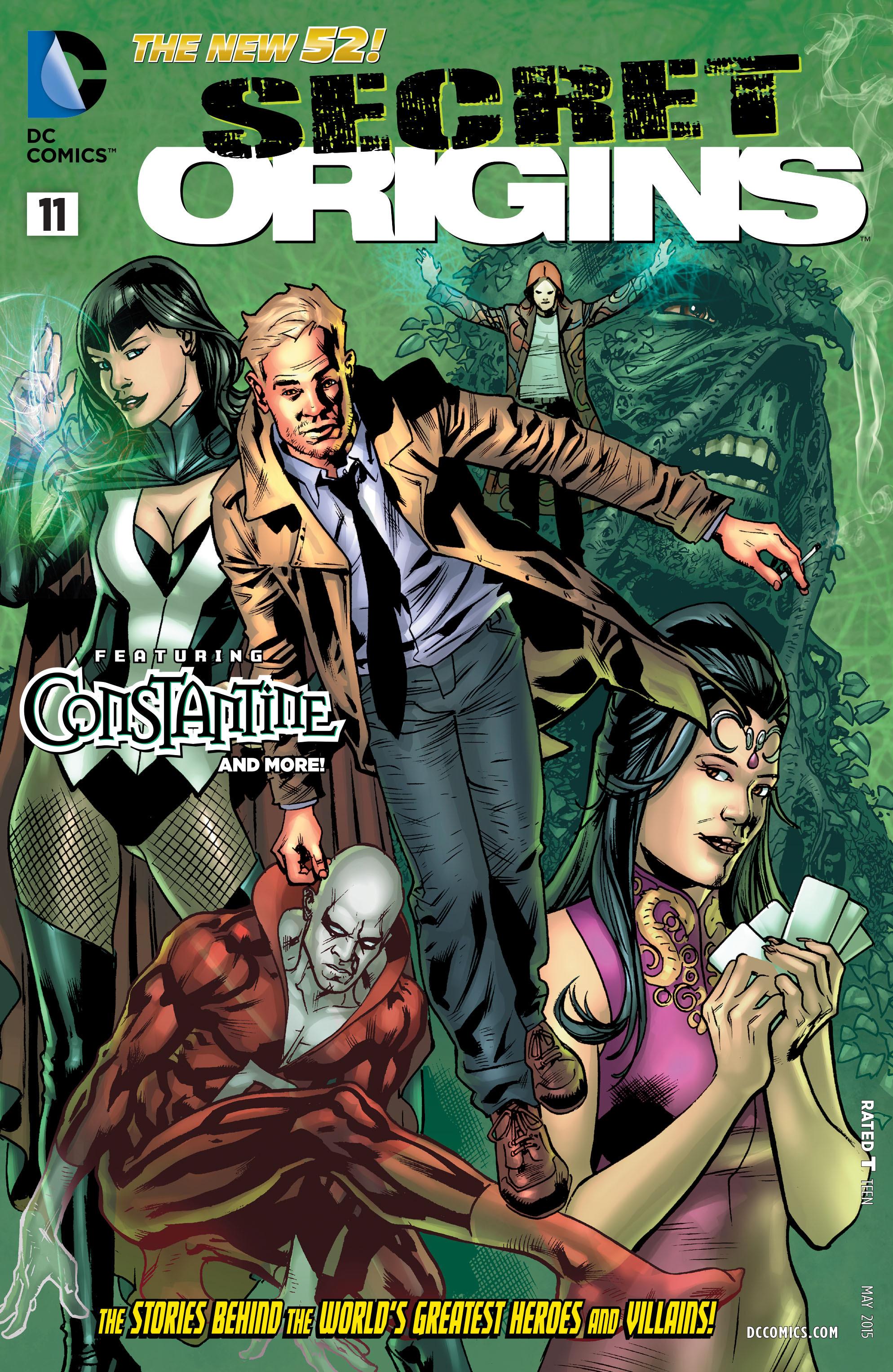 Read online Secret Origins (2014) comic -  Issue #11 - 1
