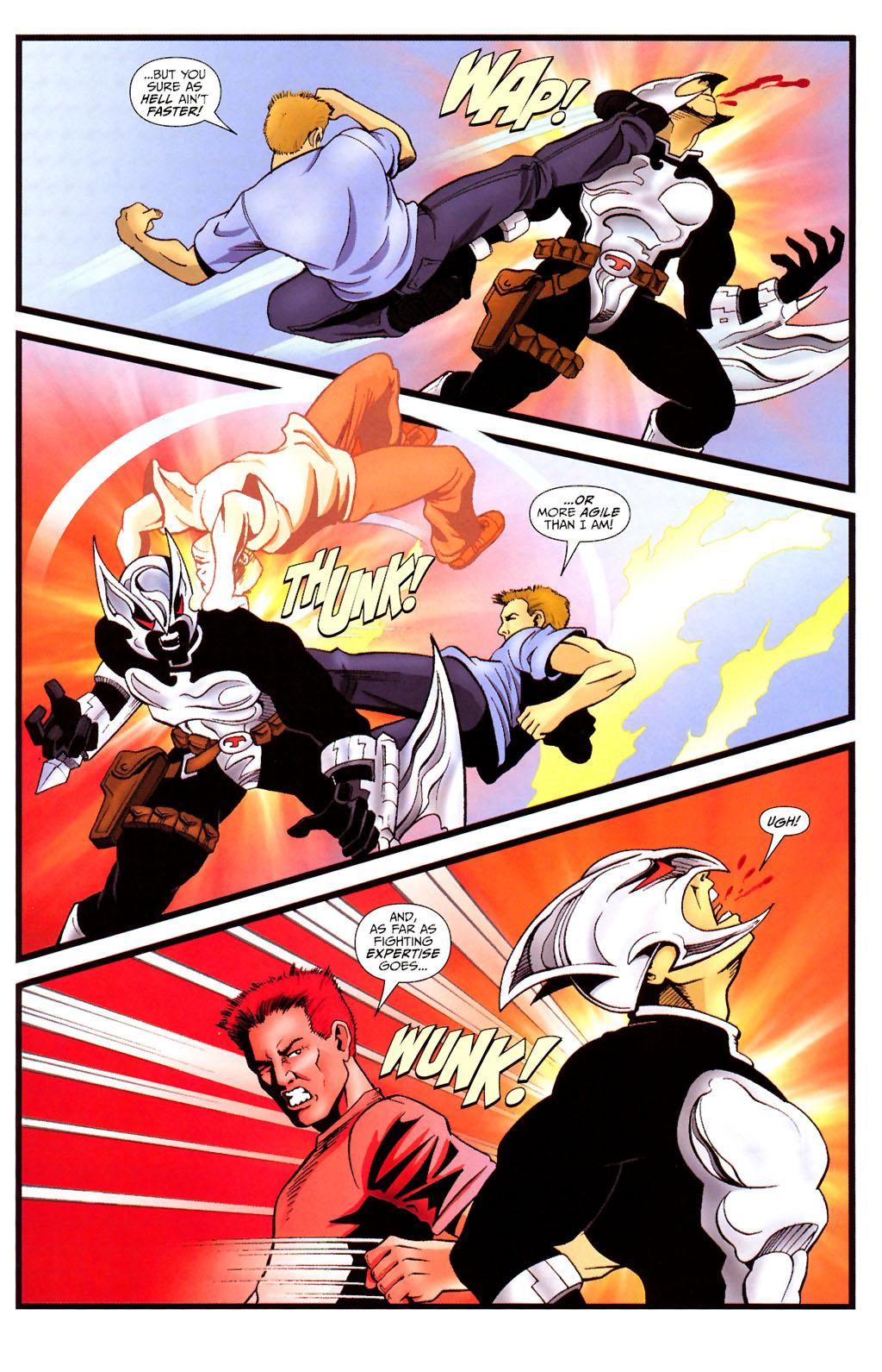 Read online ShadowHawk (2005) comic -  Issue #12 - 19