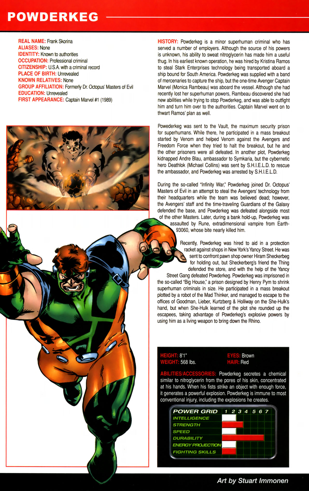 Read online All-New Official Handbook of the Marvel Universe A to Z comic -  Issue #8 - 50