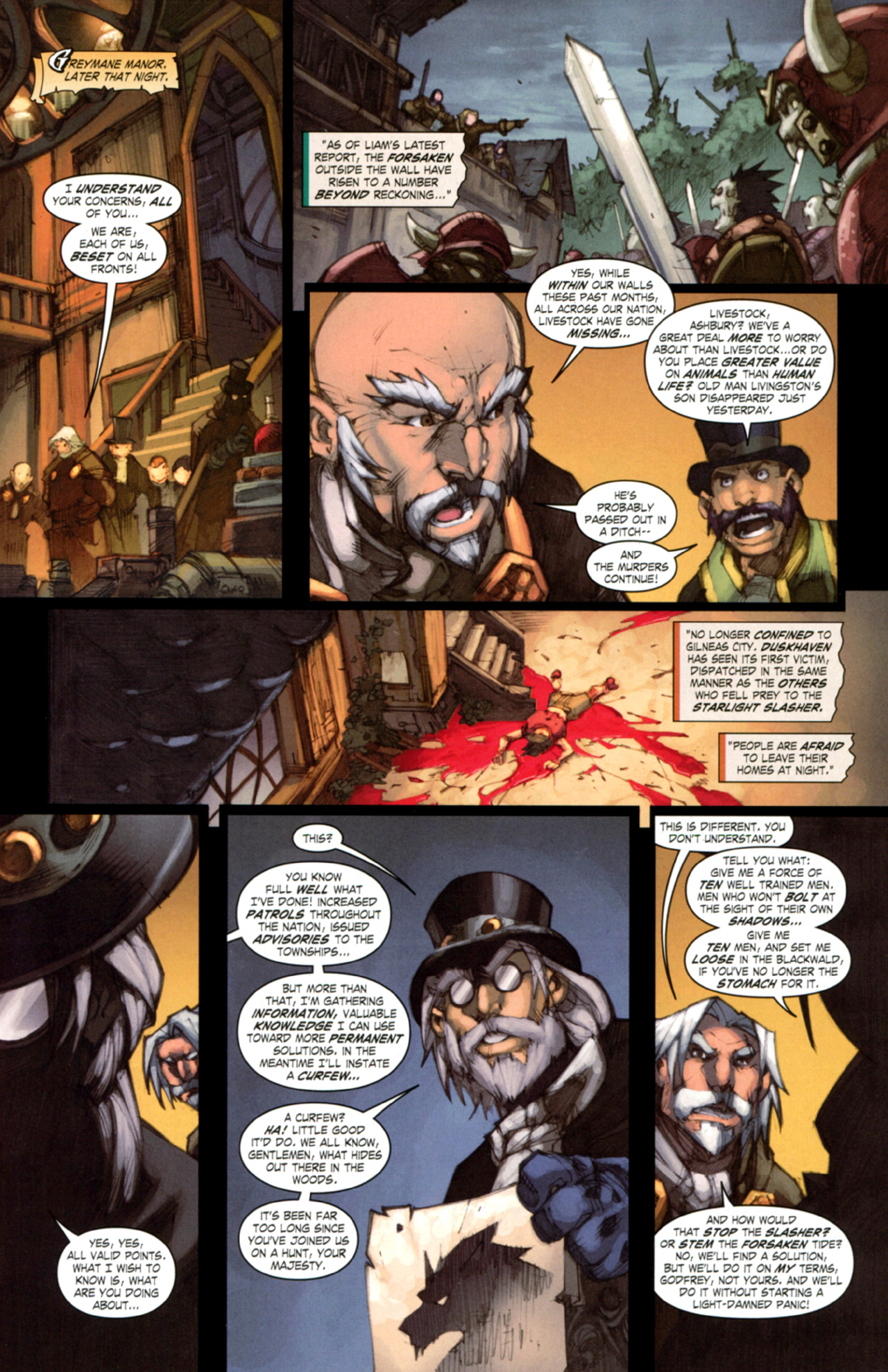 Read online World of Warcraft: Curse of the Worgen comic -  Issue #3 - 15