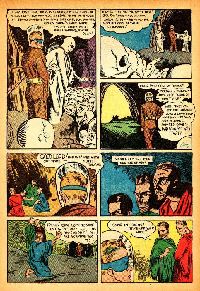 Read online Amazing Man Comics comic -  Issue #12 - 39