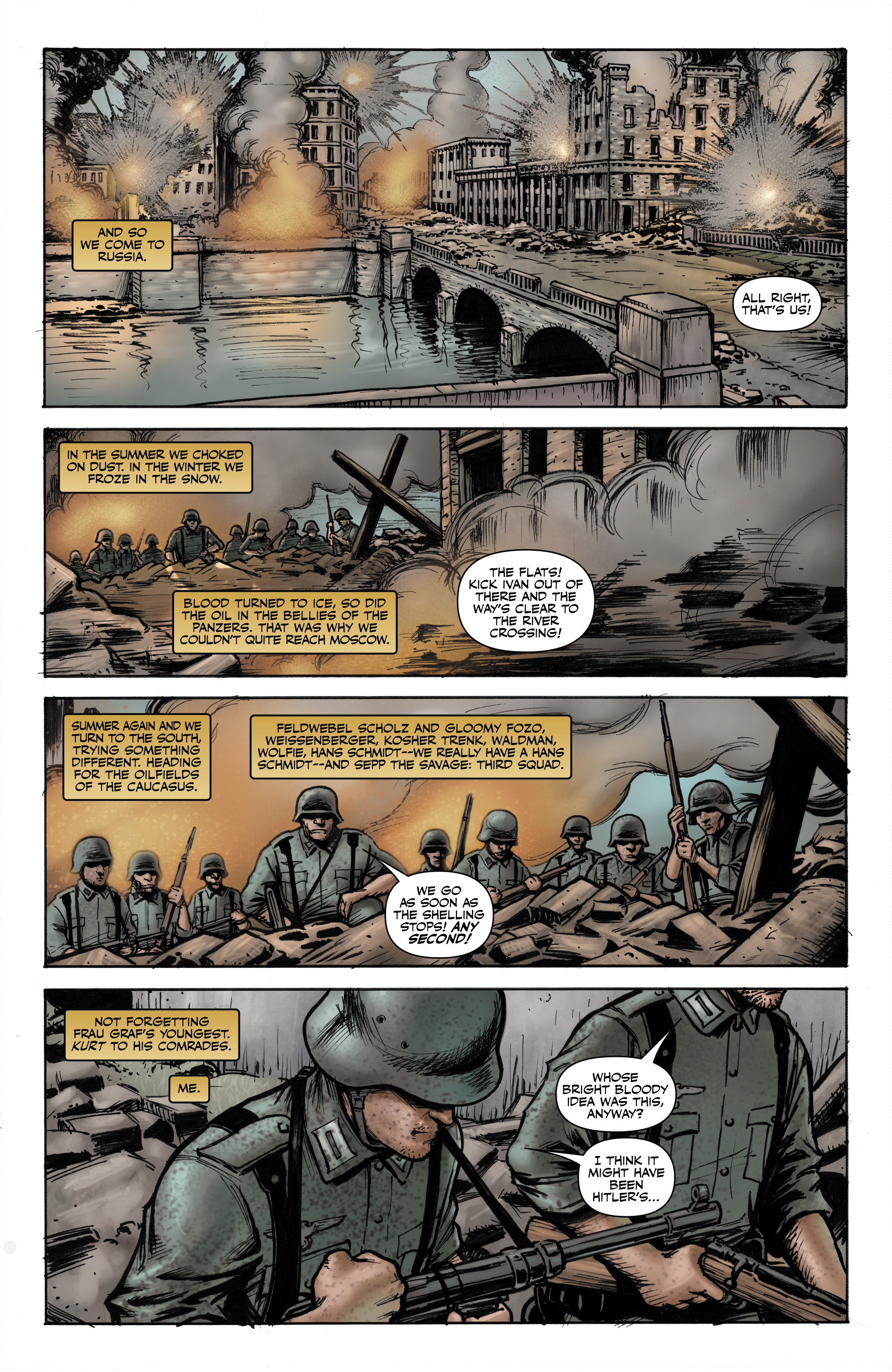 Read online Battlefields: Night Witches comic -  Issue # TPB - 6