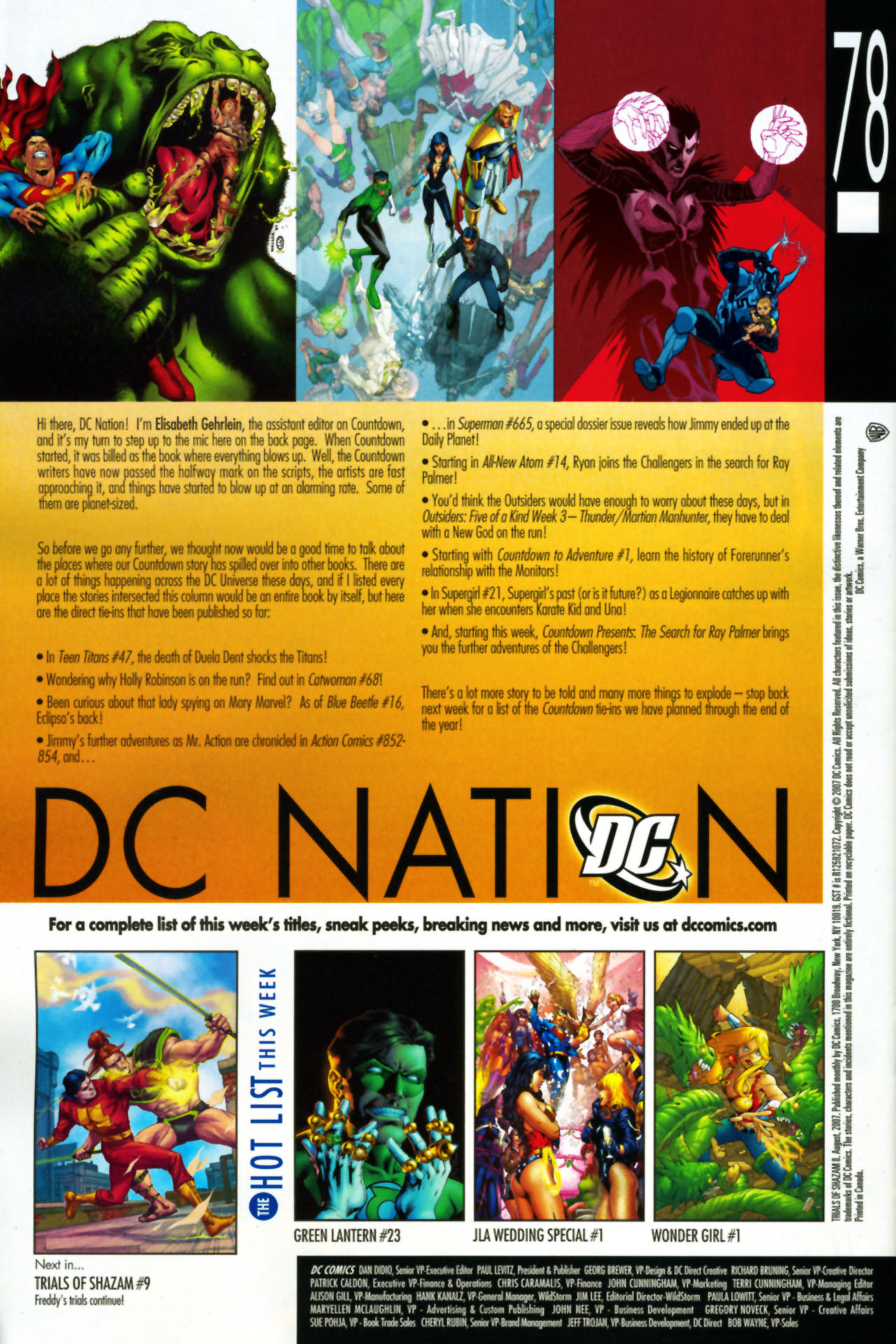 Read online Trials of Shazam comic -  Issue #8 - 23