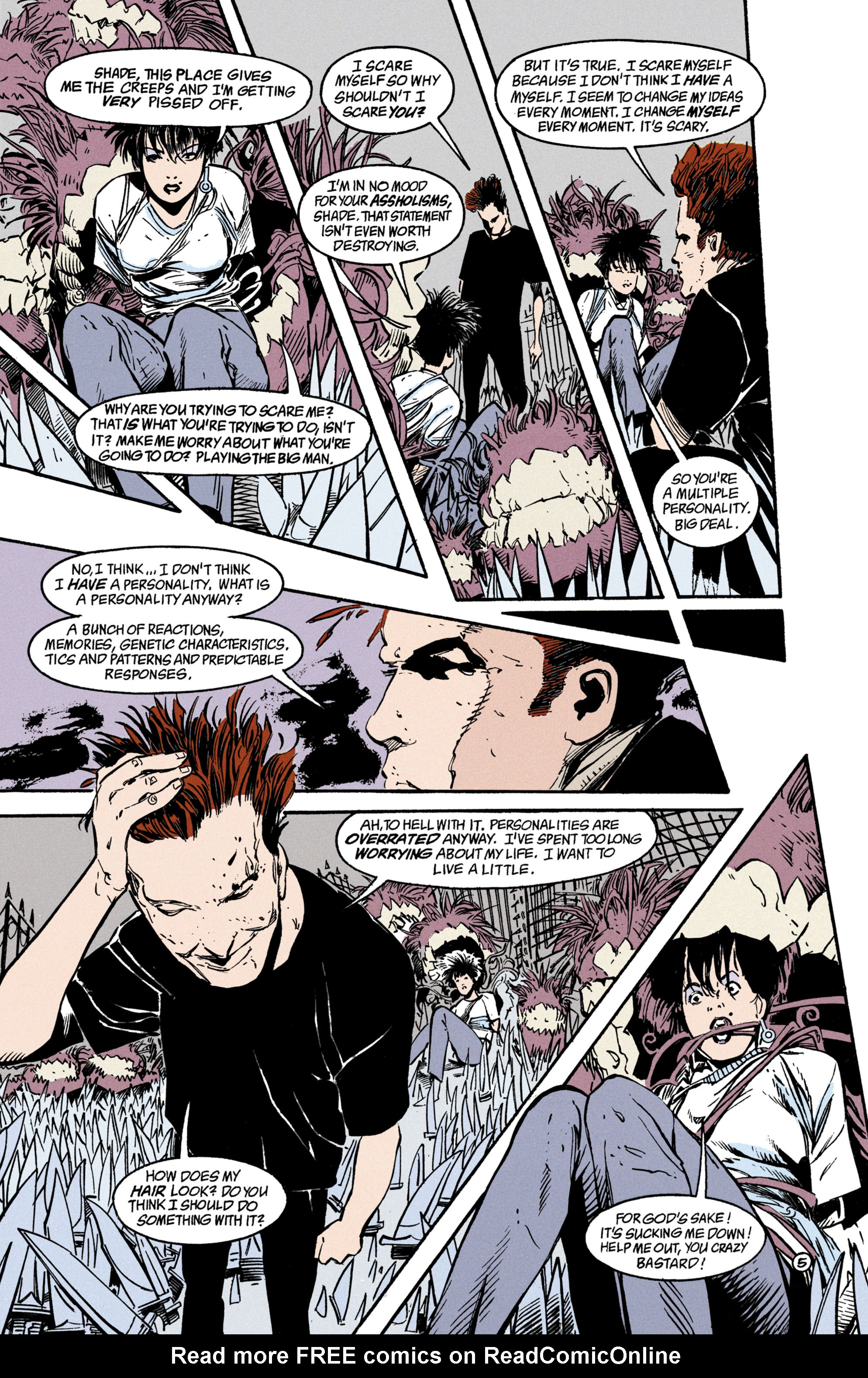Read online Shade, the Changing Man comic -  Issue #35 - 6
