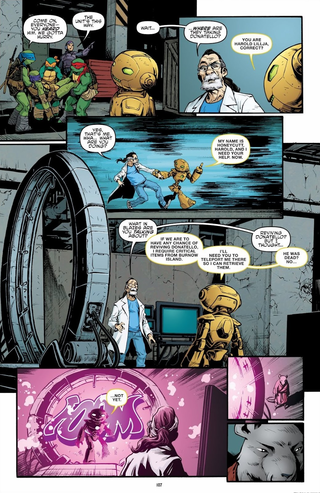 Read online Teenage Mutant Ninja Turtles: The IDW Collection comic -  Issue # TPB 6 (Part 2) - 6