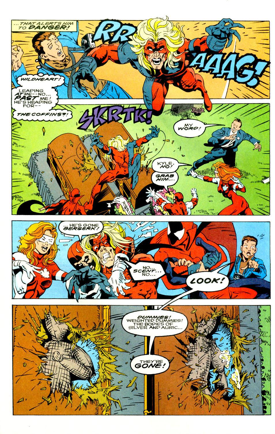 Read online Alpha Flight (1983) comic -  Issue #121 - 6