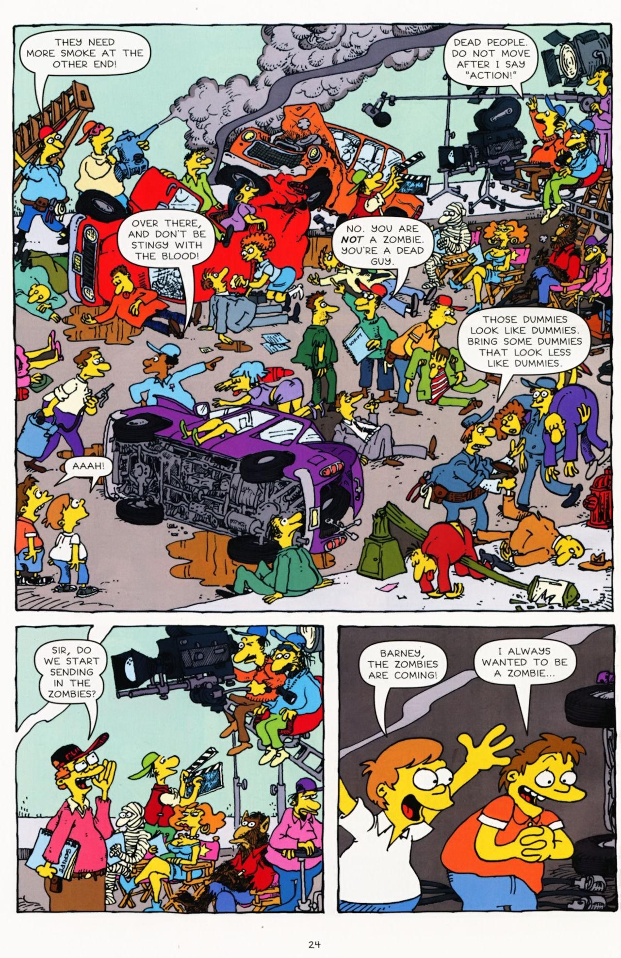 Read online Simpsons Comics Presents Bart Simpson comic -  Issue #60 - 25