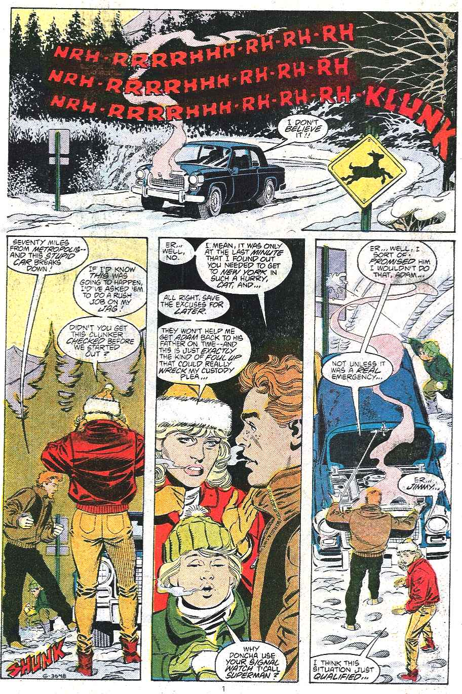Read online Adventures of Superman (1987) comic -  Issue #439 - 2