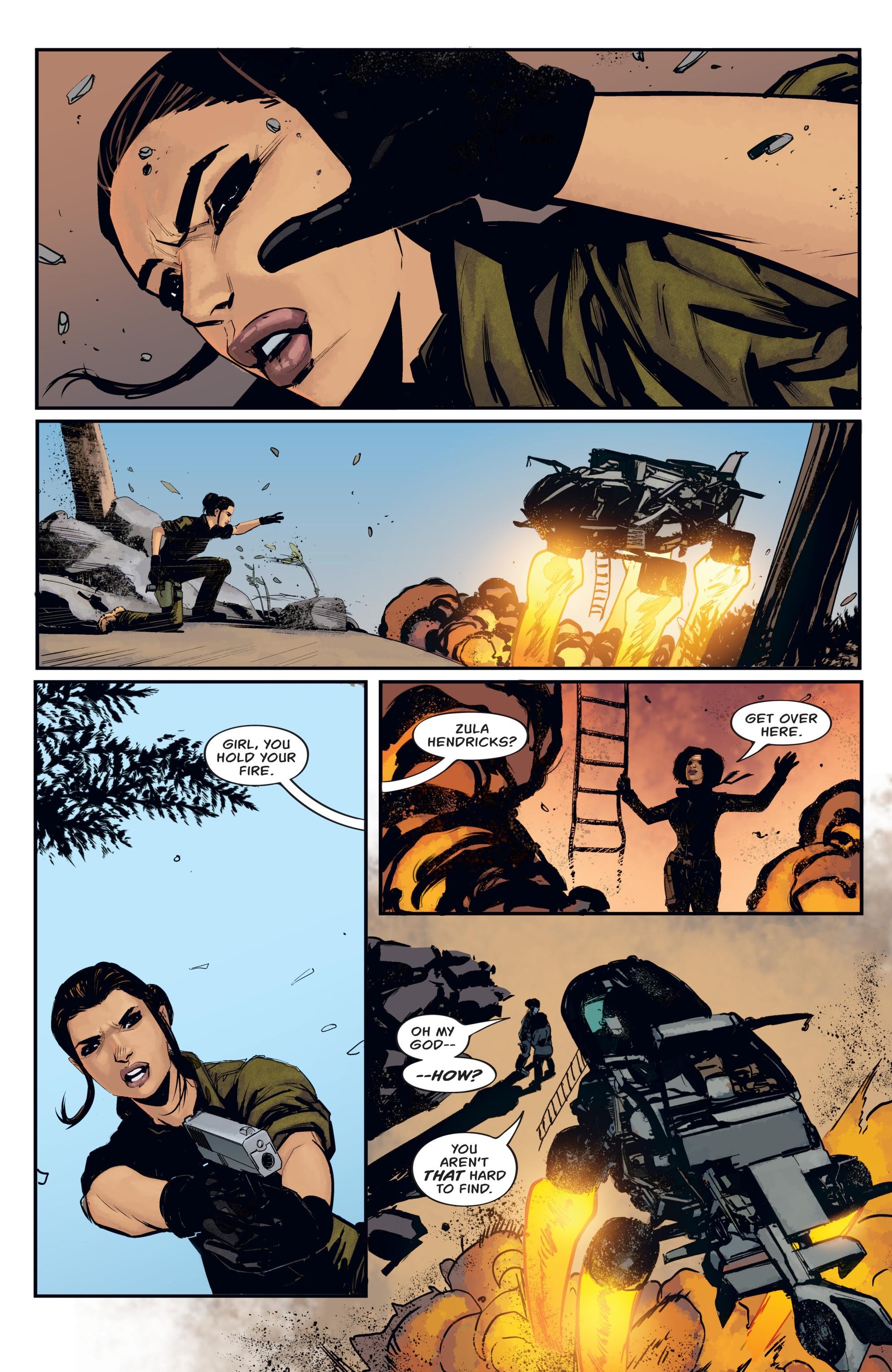 Read online Aliens: Resistance comic -  Issue # _TPB - 10
