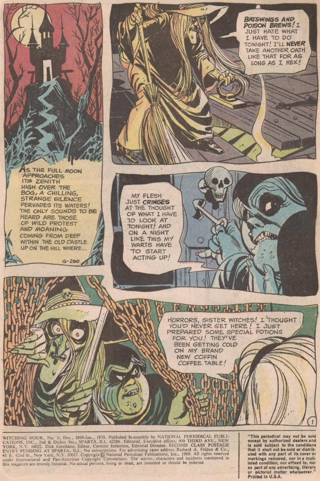 The Witching Hour (1969) issue 6 - Page 2