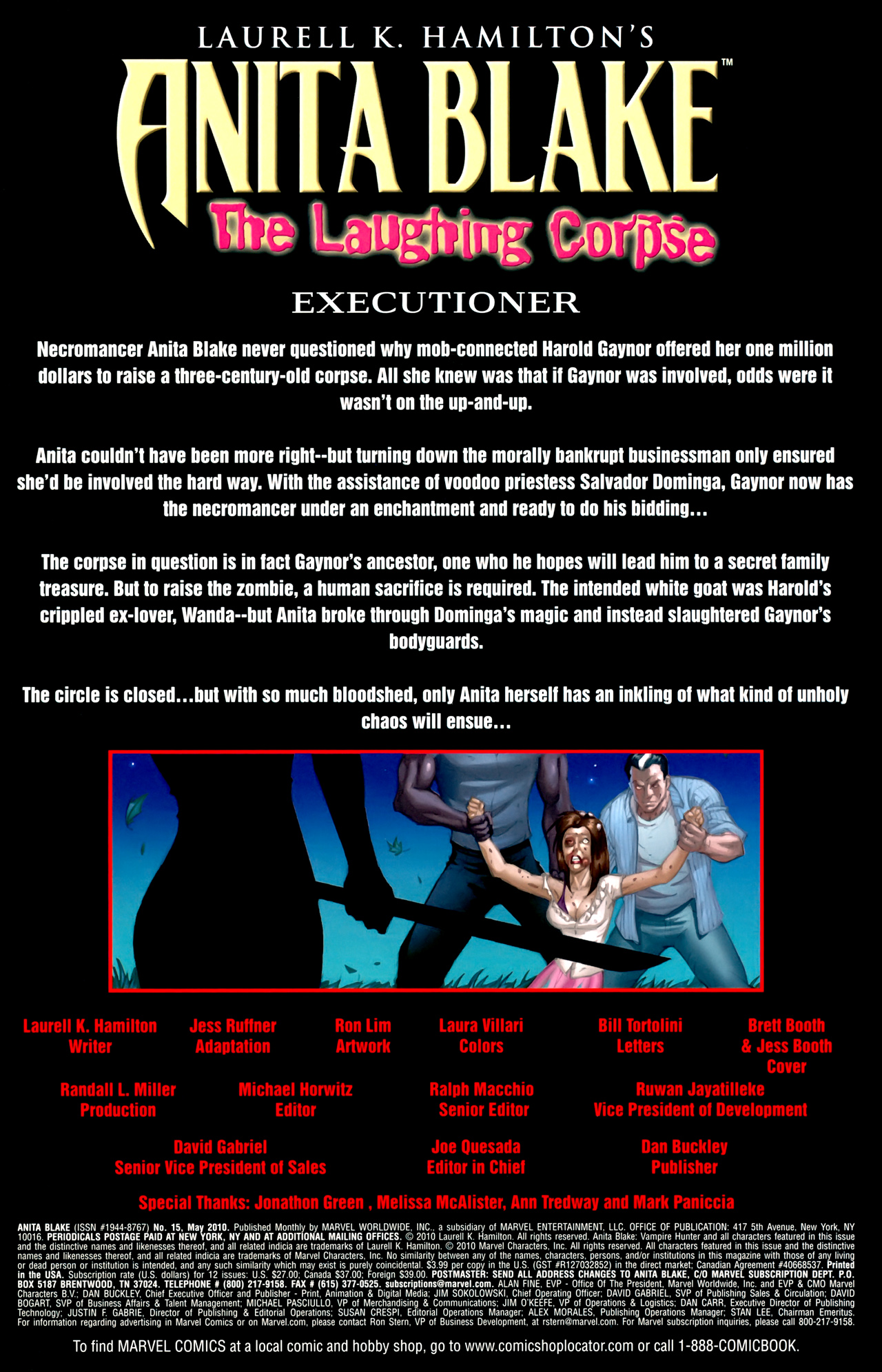 Read online Anita Blake: The Laughing Corpse - Executioner comic -  Issue #5 - 3