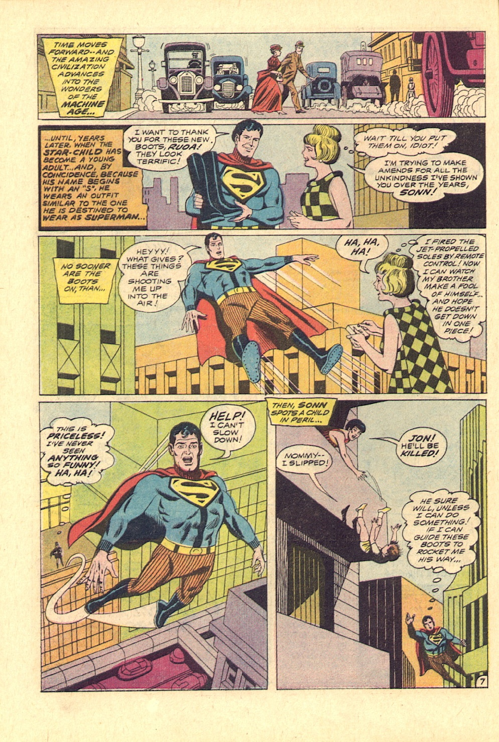Read online Action Comics (1938) comic -  Issue #370 - 8