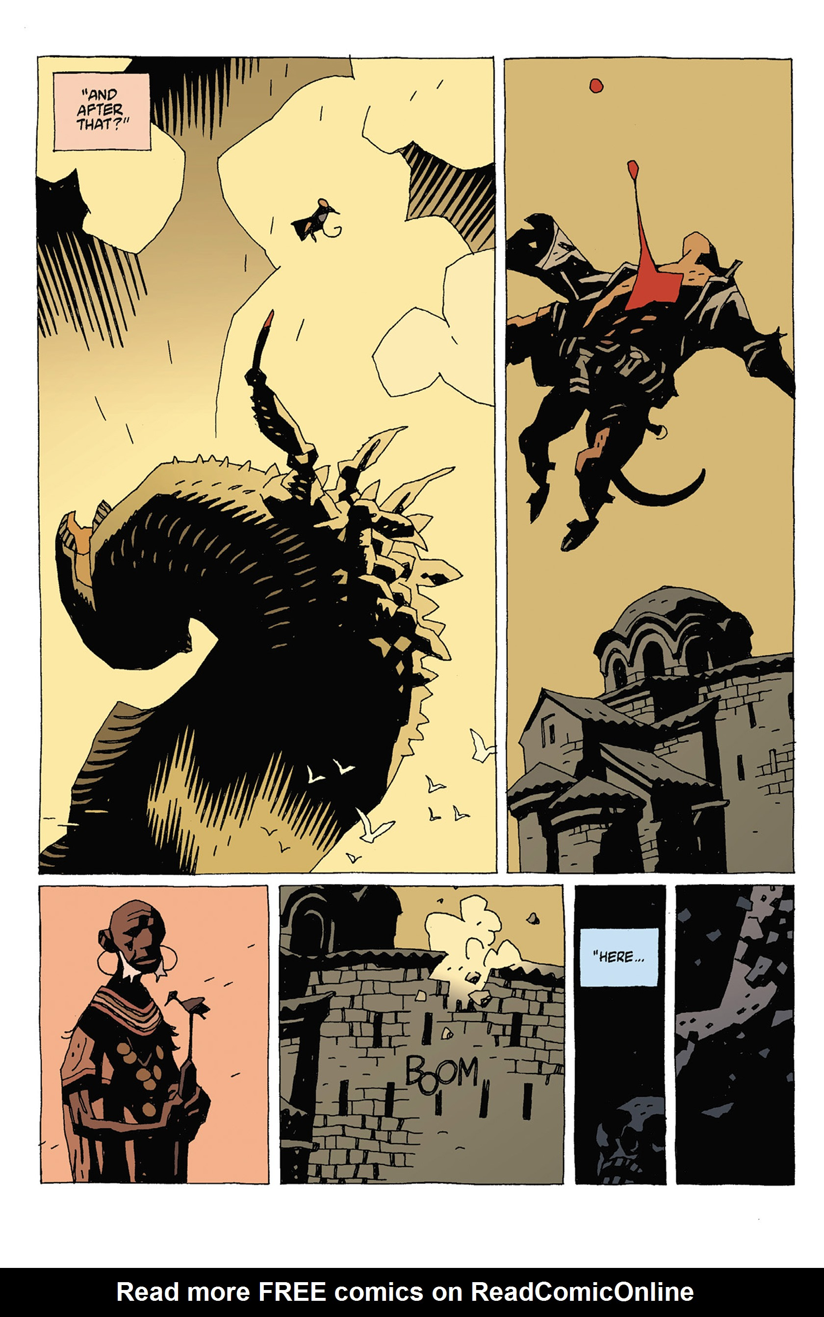 Read online Hellboy: Strange Places comic -  Issue # TPB - 90
