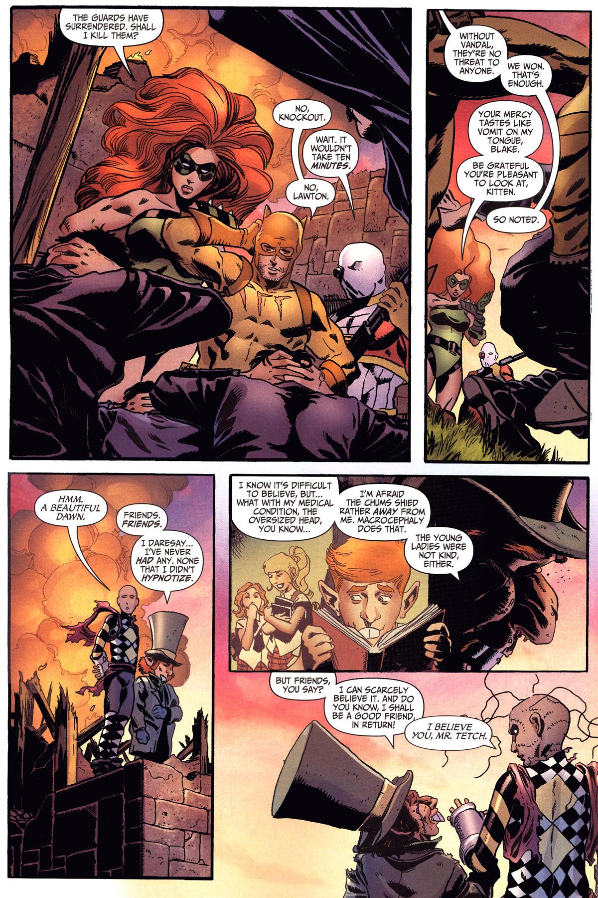 Read online Secret Six (2006) comic -  Issue #6 - 20
