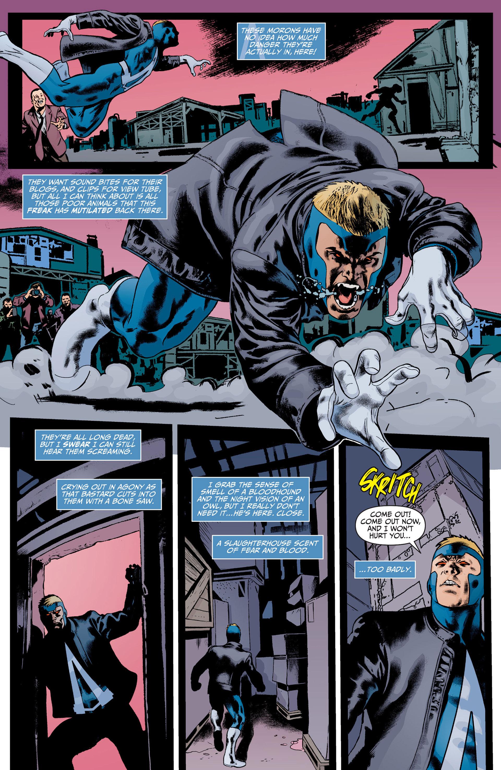 Read online Animal Man (2011) comic -  Issue #22 - 5