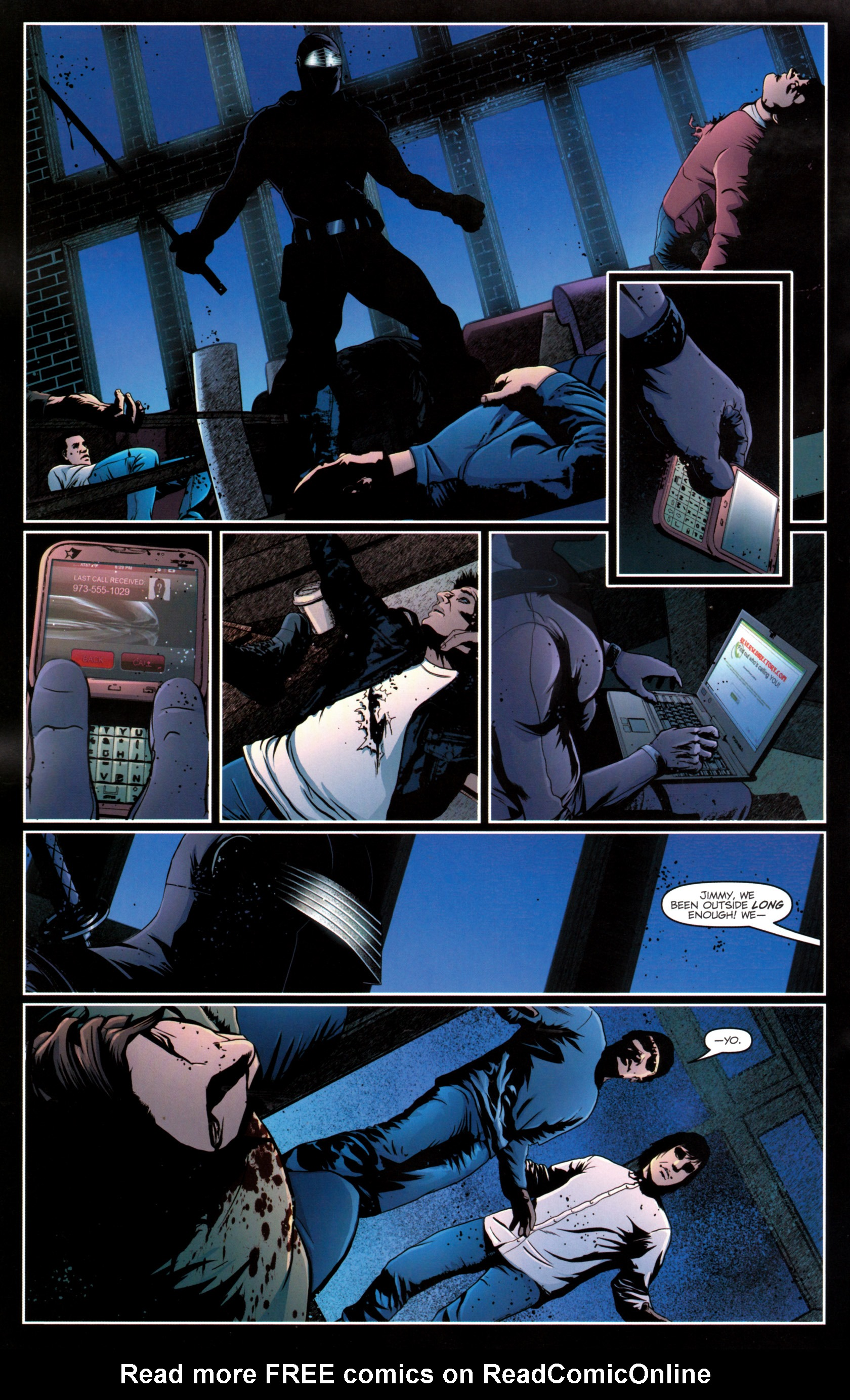Read online G.I. Joe: Snake Eyes comic -  Issue #12 - 19