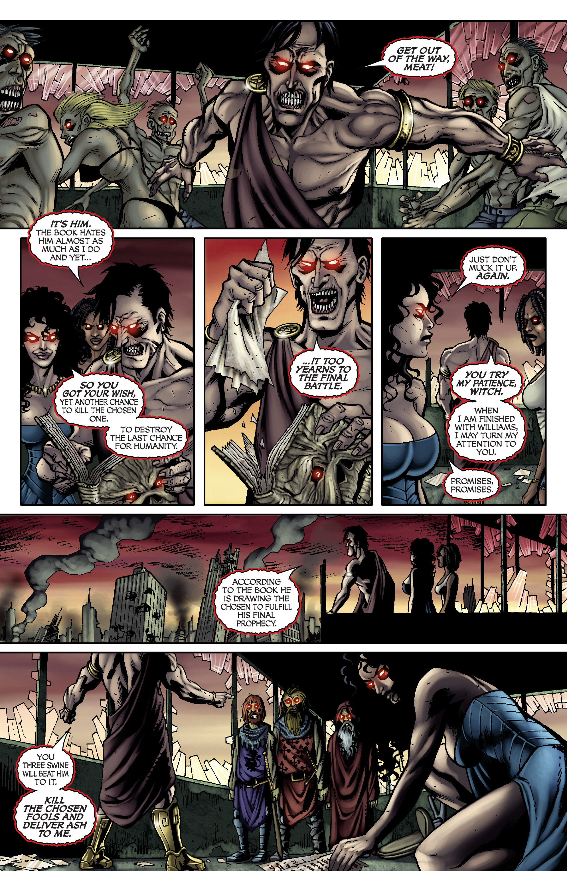 Read online Army of Darkness: From the Ashes comic -  Issue #Army of Darkness: From the Ashes TPB - 37