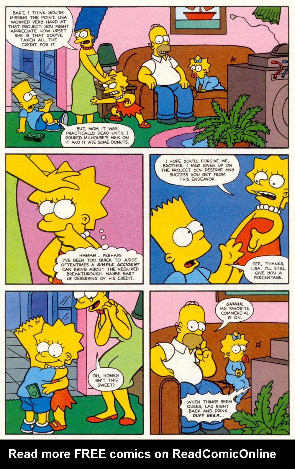Read online Treehouse of Horror comic -  Issue #1 - 13