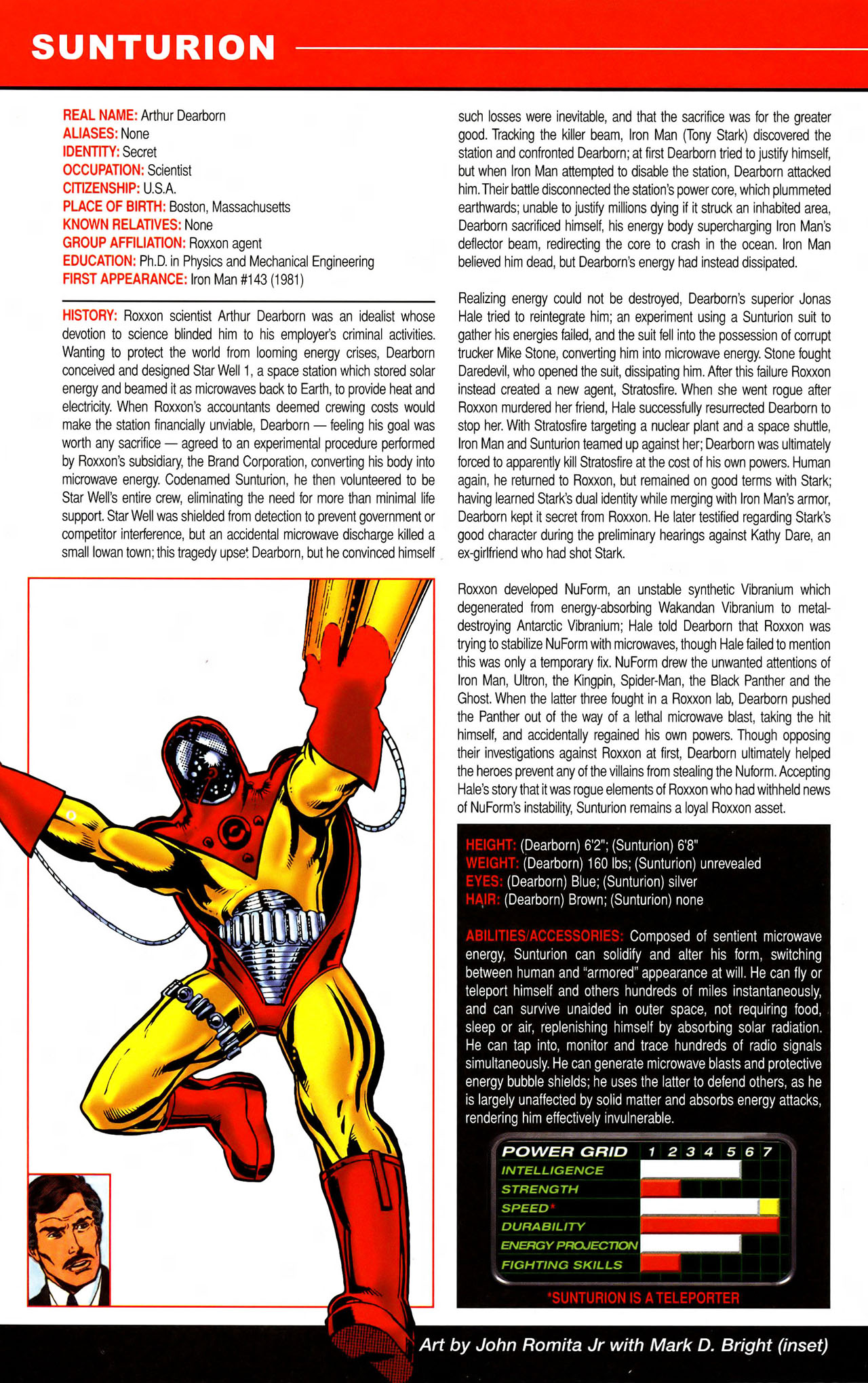 Read online All-New Official Handbook of the Marvel Universe A to Z comic -  Issue #11 - 16