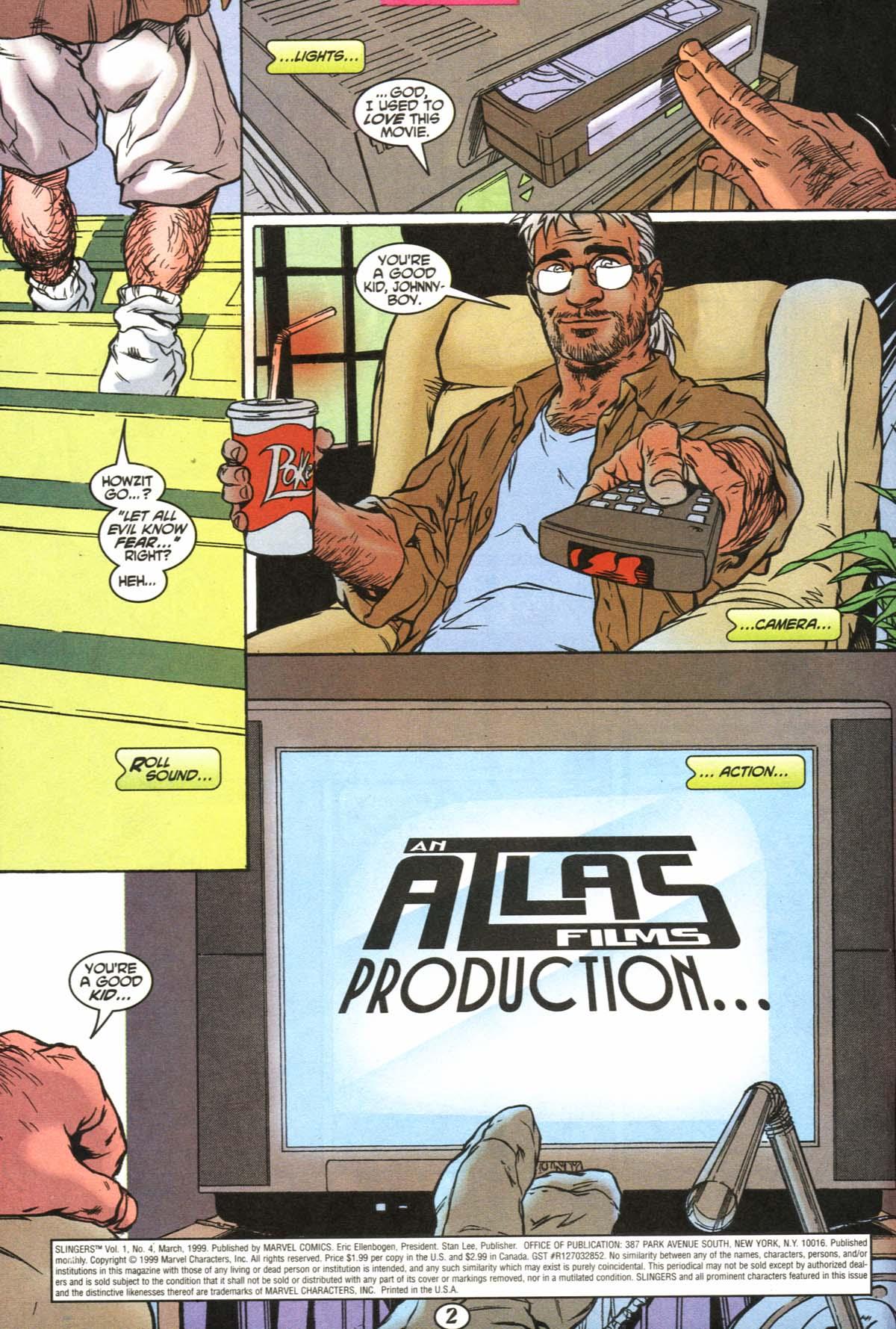Read online Slingers comic -  Issue #4 - 3