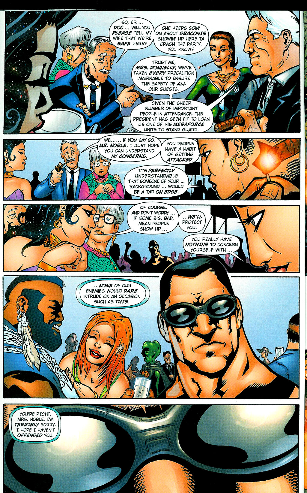 Read online Noble Causes (2002) comic -  Issue #1 - 8