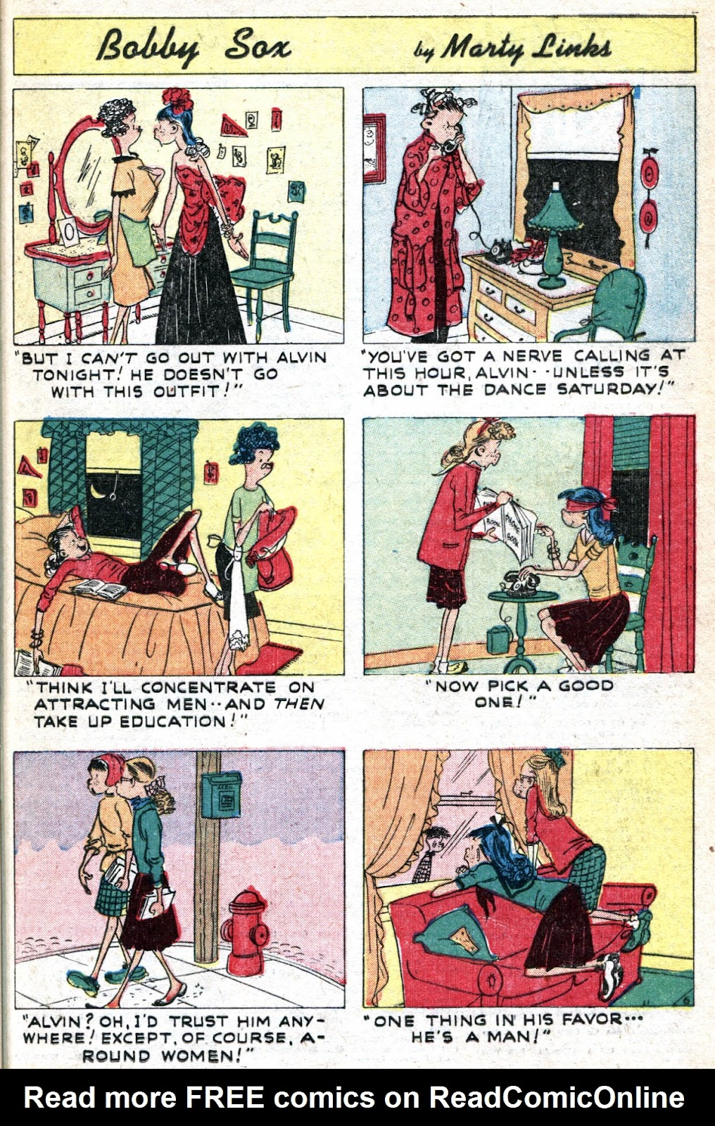 Read online Famous Funnies comic -  Issue #190 - 37