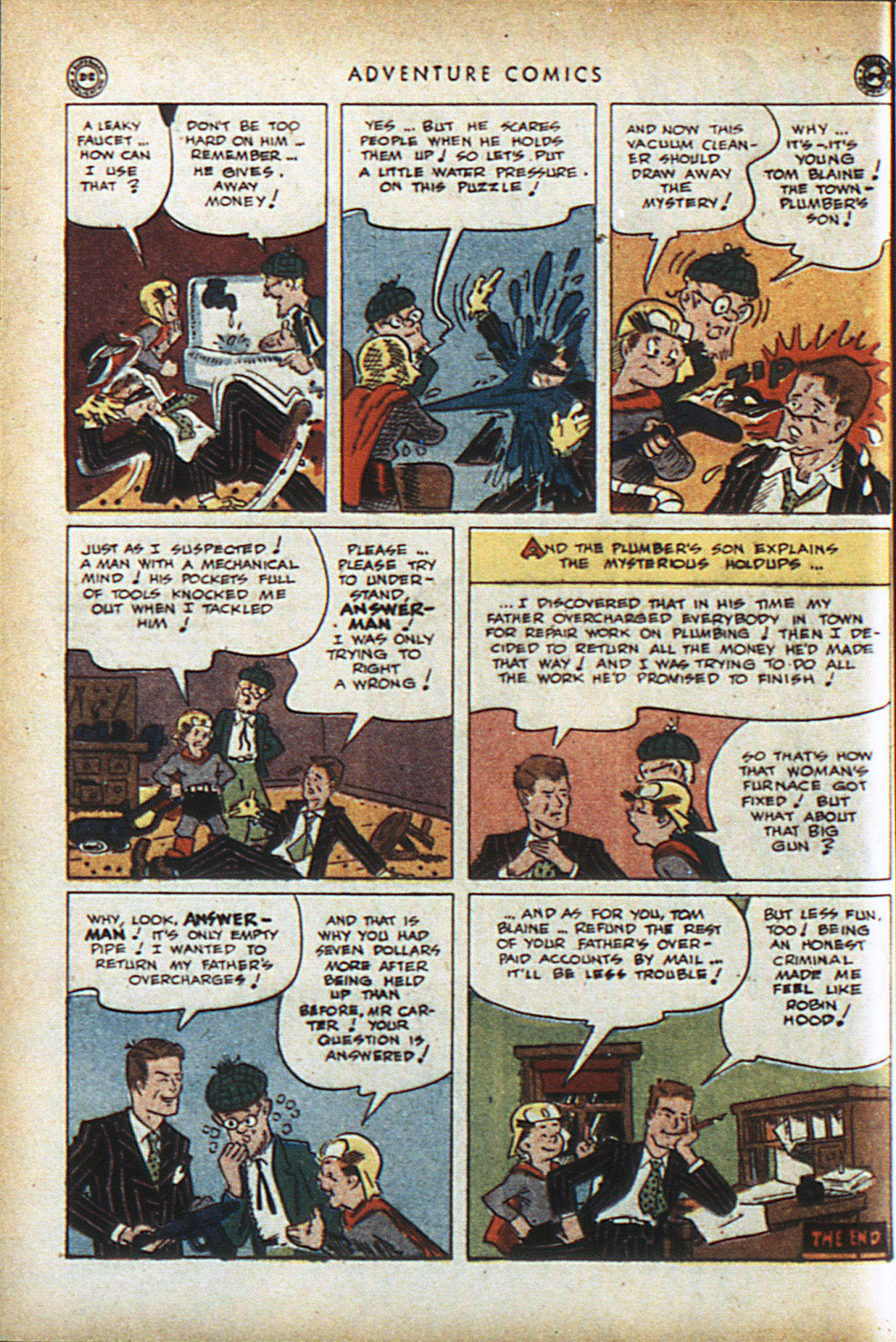 Read online Adventure Comics (1938) comic -  Issue #95 - 41