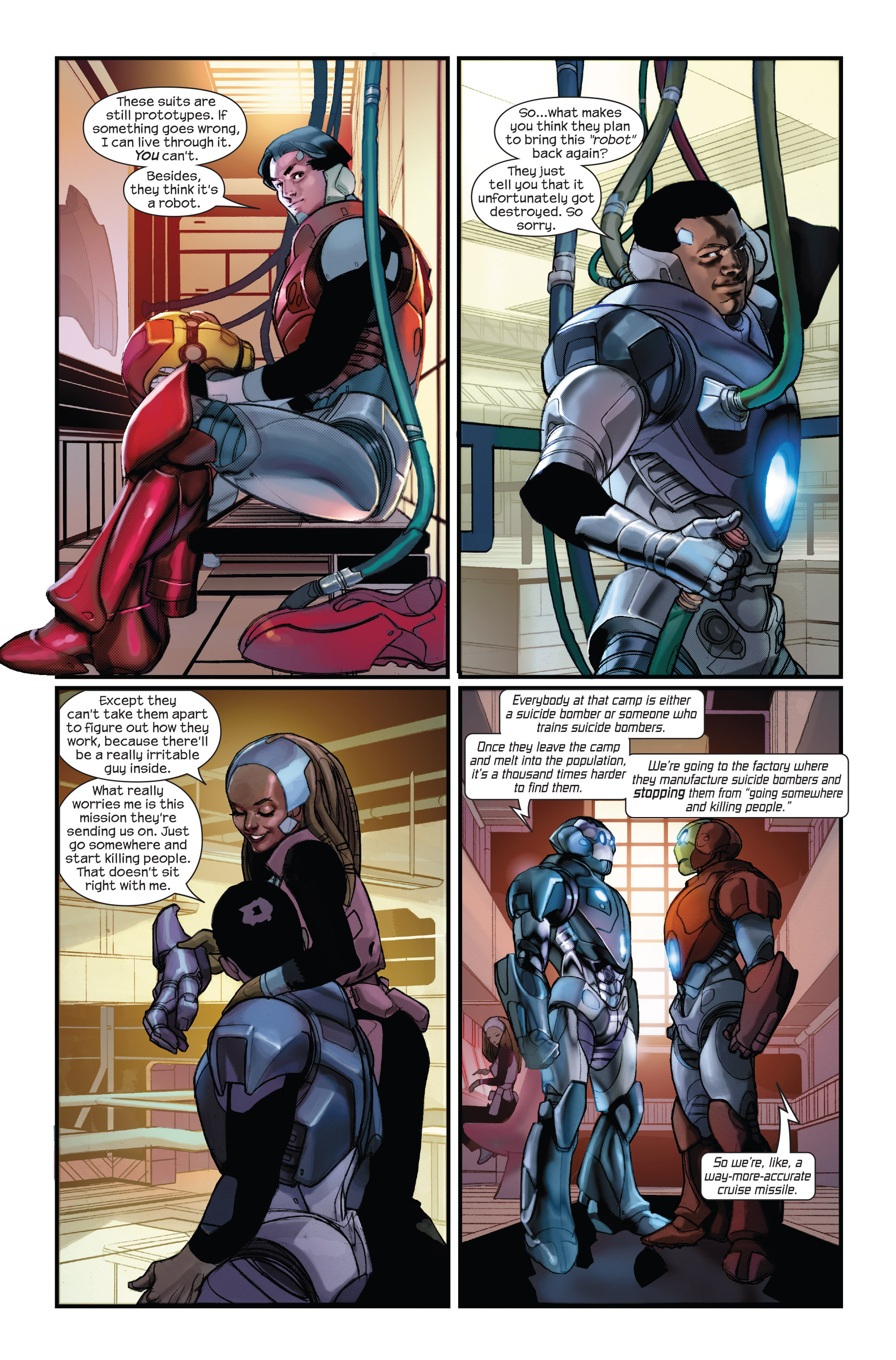 Read online Ultimate Iron Man II comic -  Issue #1 - 14