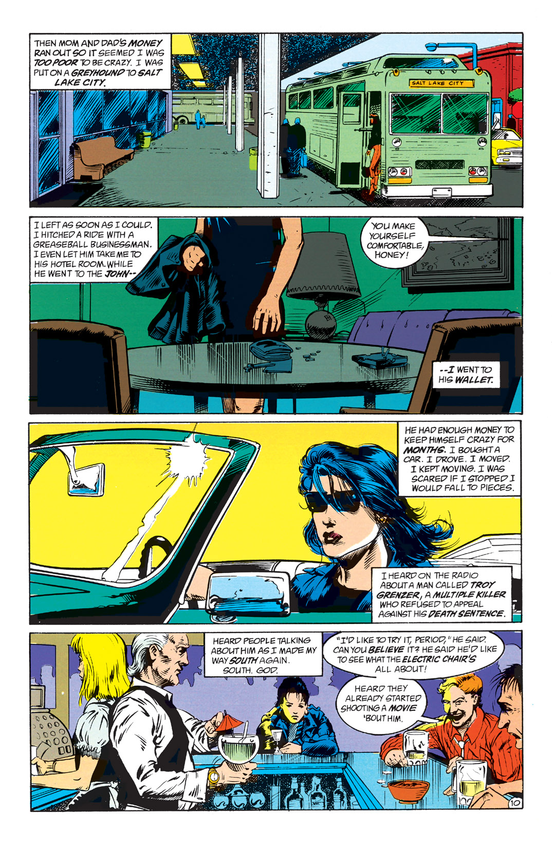 Read online Shade, the Changing Man comic -  Issue #1 - 12