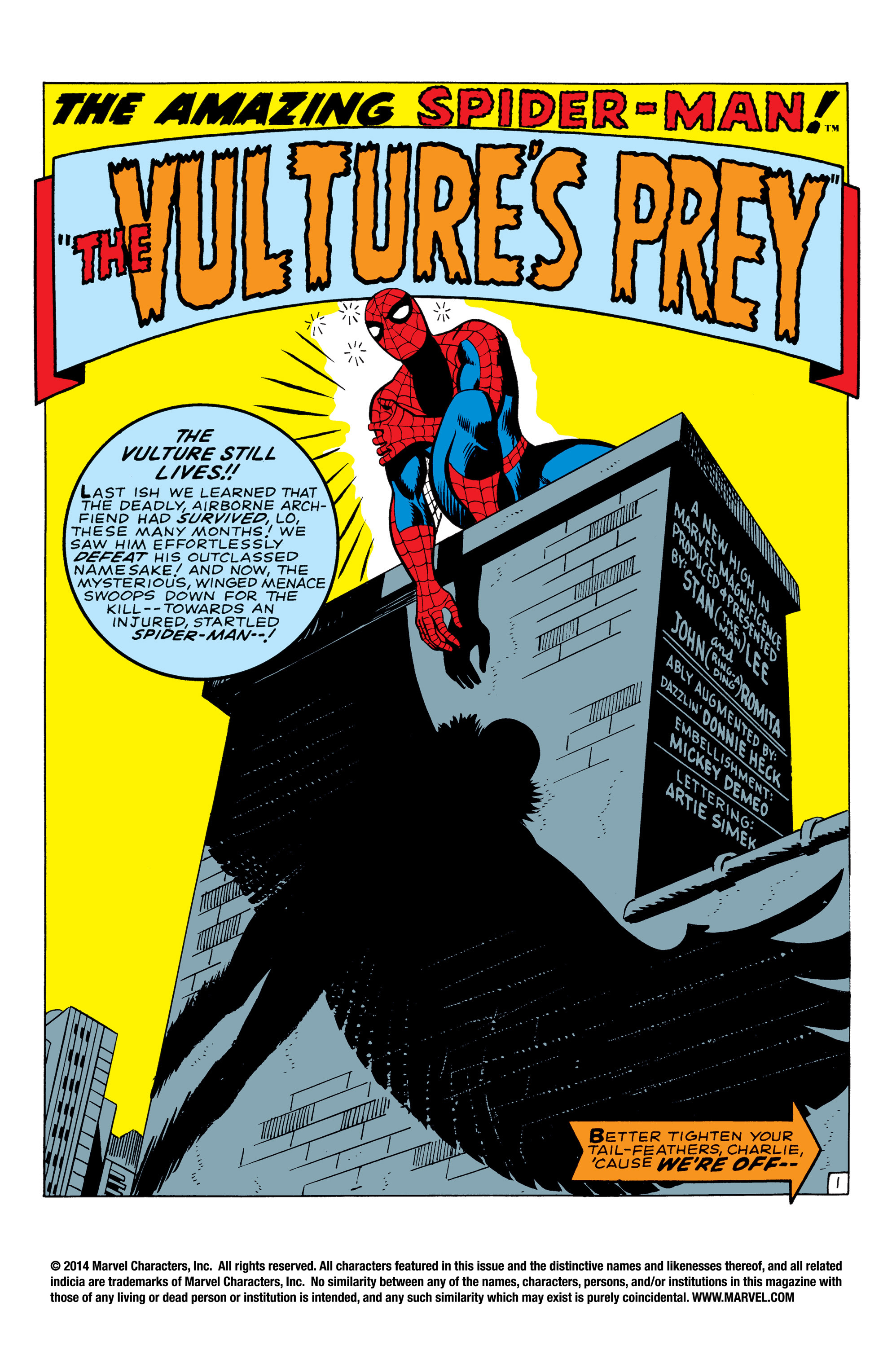 The Amazing Spider-Man (1963) 64 Page 1