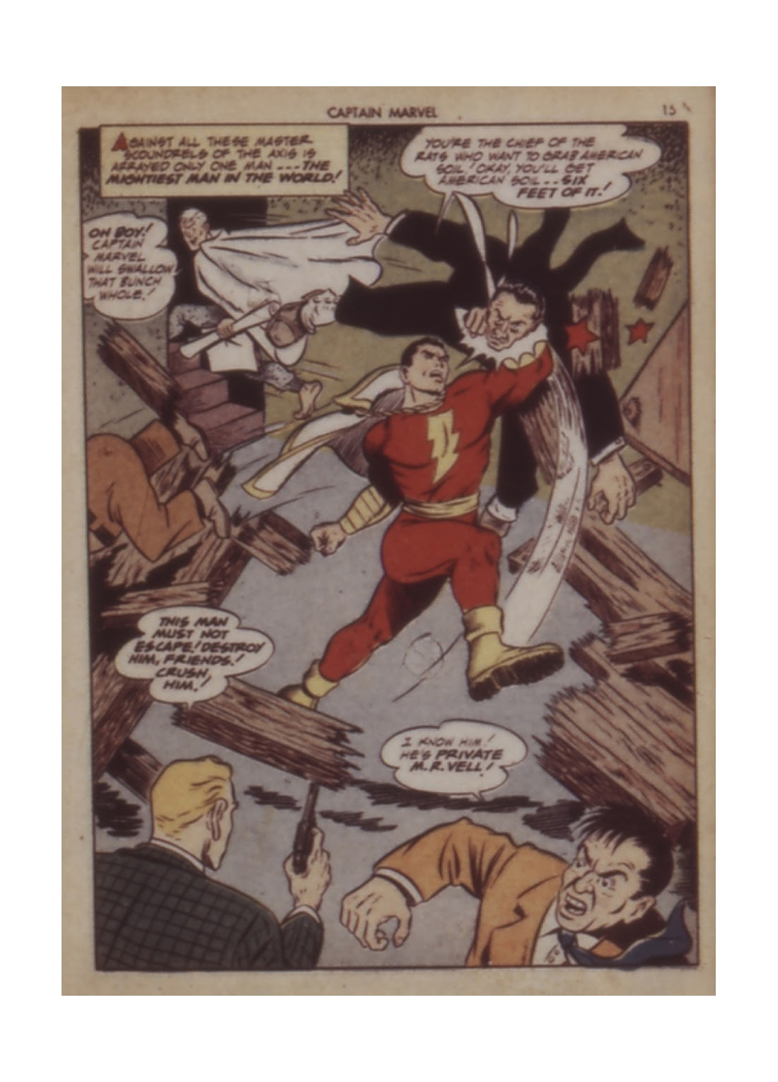Captain Marvel Adventures issue 12 - Page 15