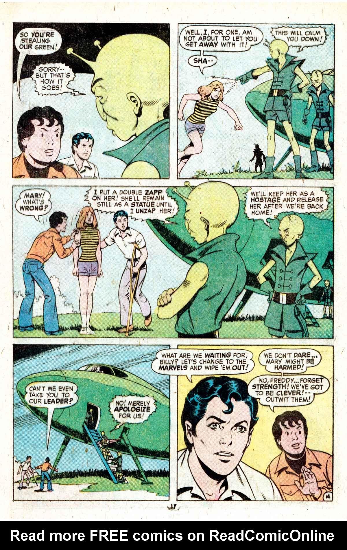 Read online Shazam! (1973) comic -  Issue #17 - 17