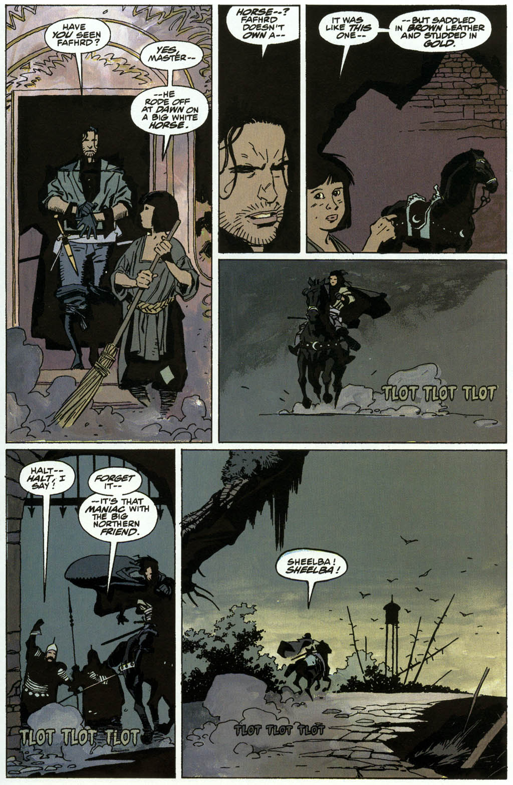 Read online Fafhrd and the Gray Mouser comic -  Issue #3 - 13