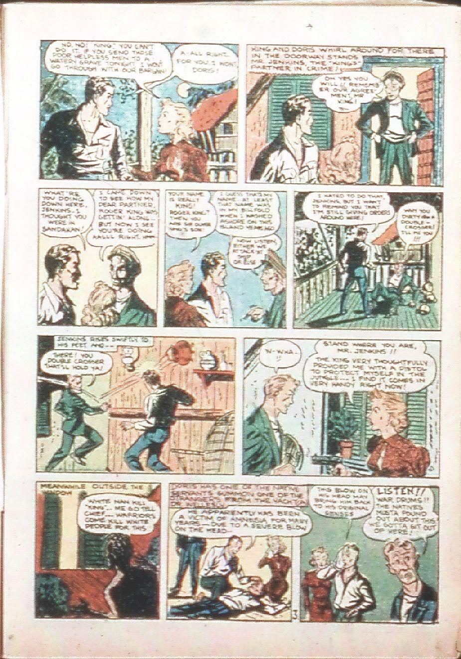 Read online Amazing Man Comics comic -  Issue #9 - 16
