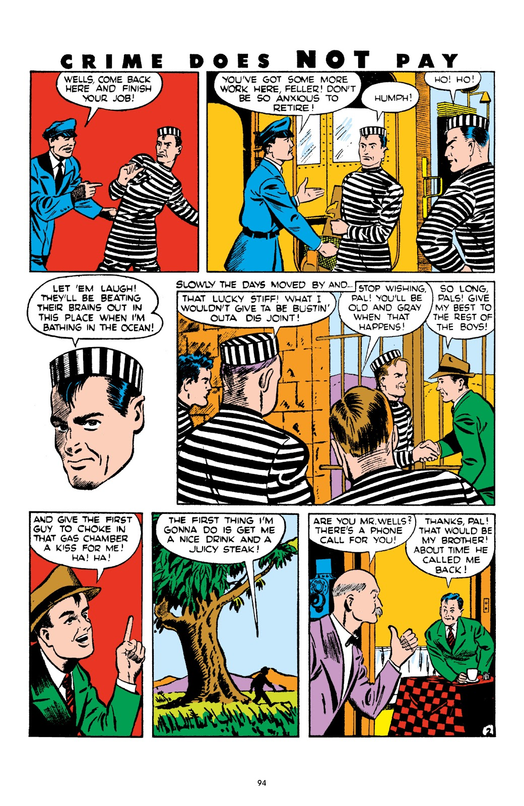 Read online Crime Does Not Pay Archives comic -  Issue # TPB 4 (Part 1) - 94