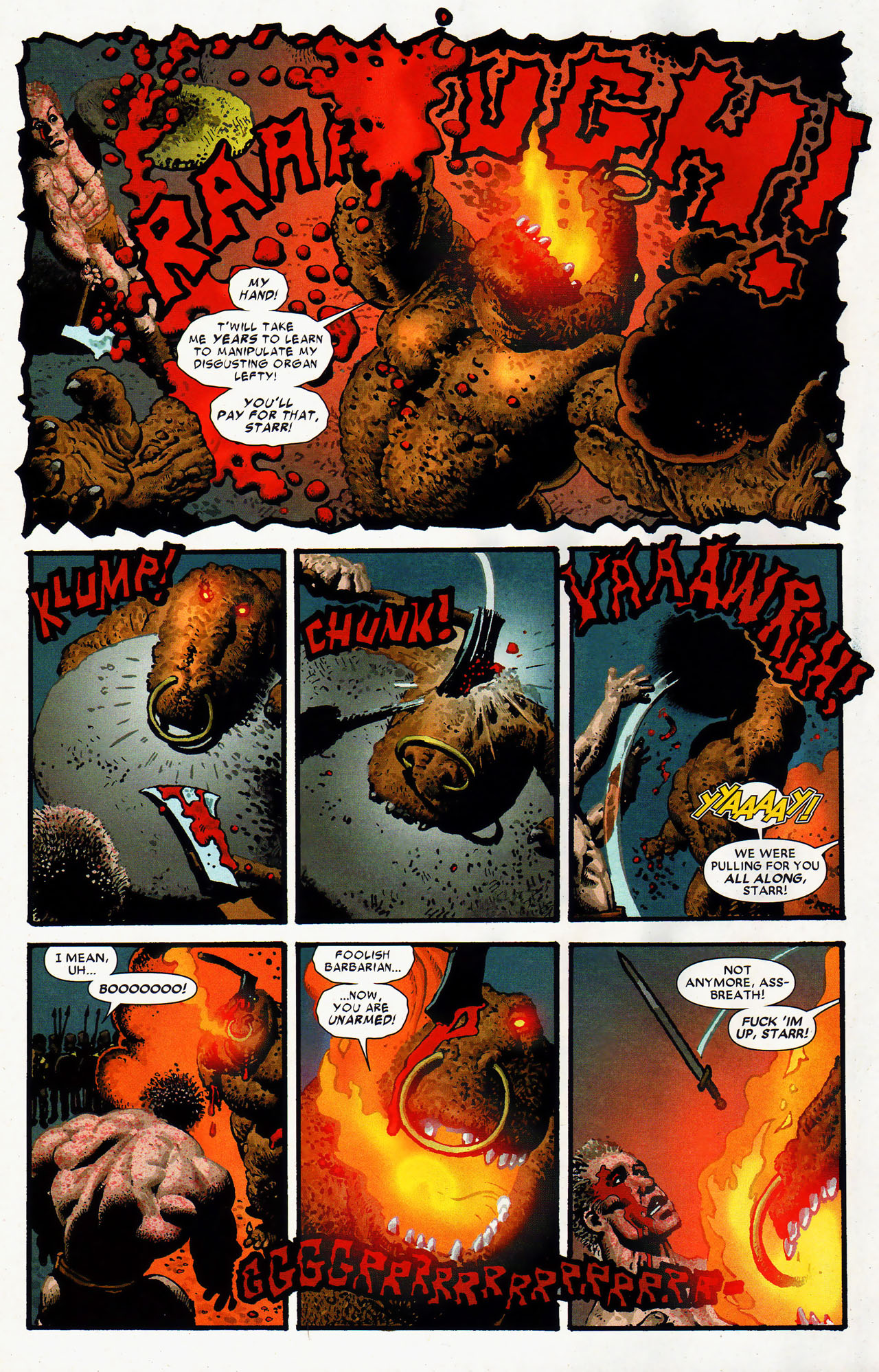 Read online Starr the Slayer comic -  Issue #4 - 13
