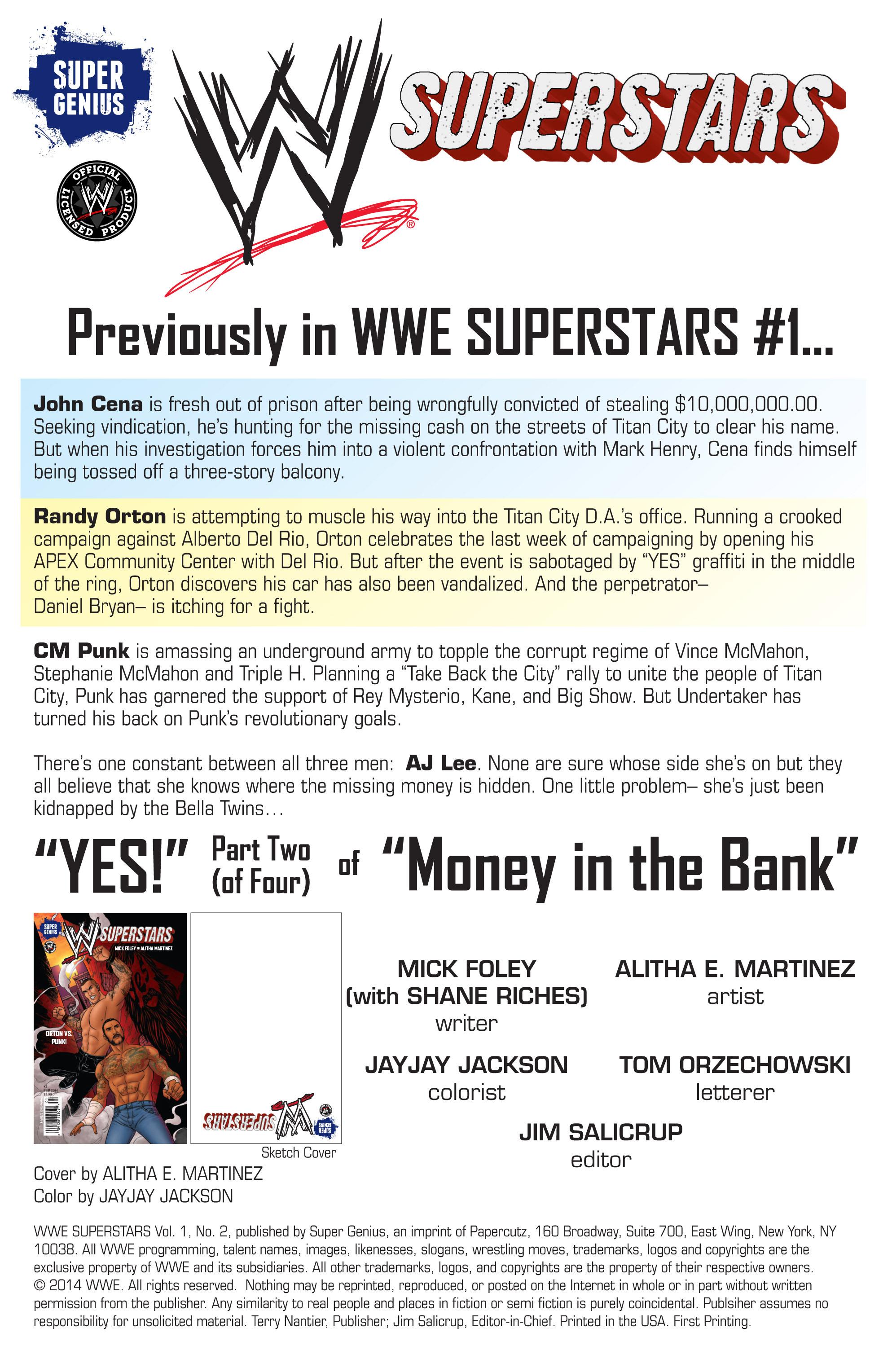 Read online WWE Superstars comic -  Issue #2 - 2