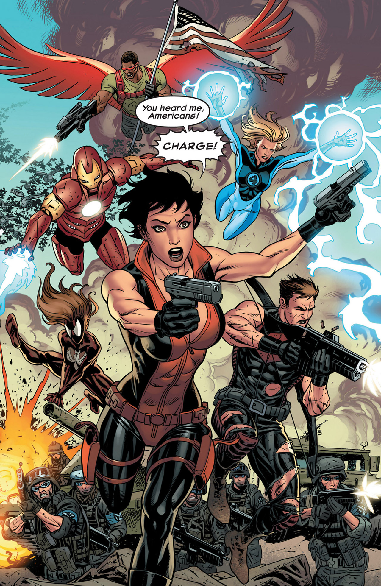 Read online Ultimate Comics Ultimates comic -  Issue #18 - 17